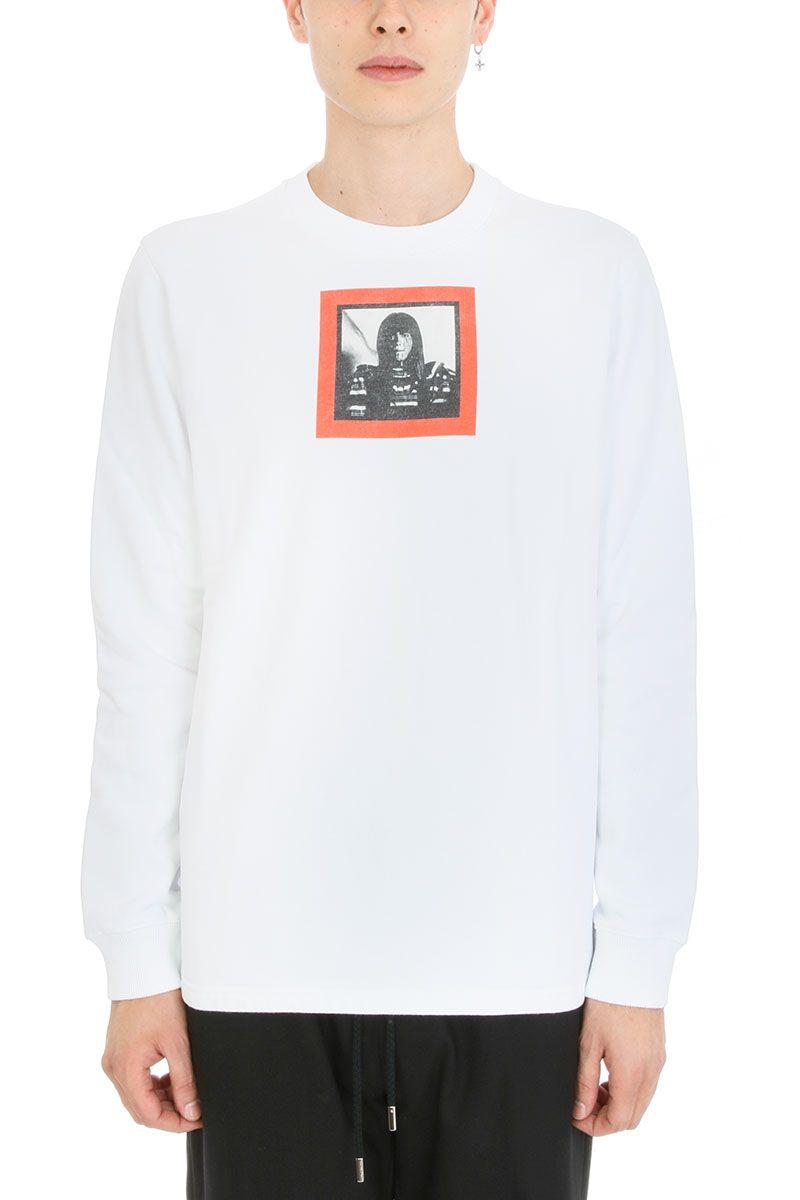 Givenchy Print White Cotton Sweatshirt