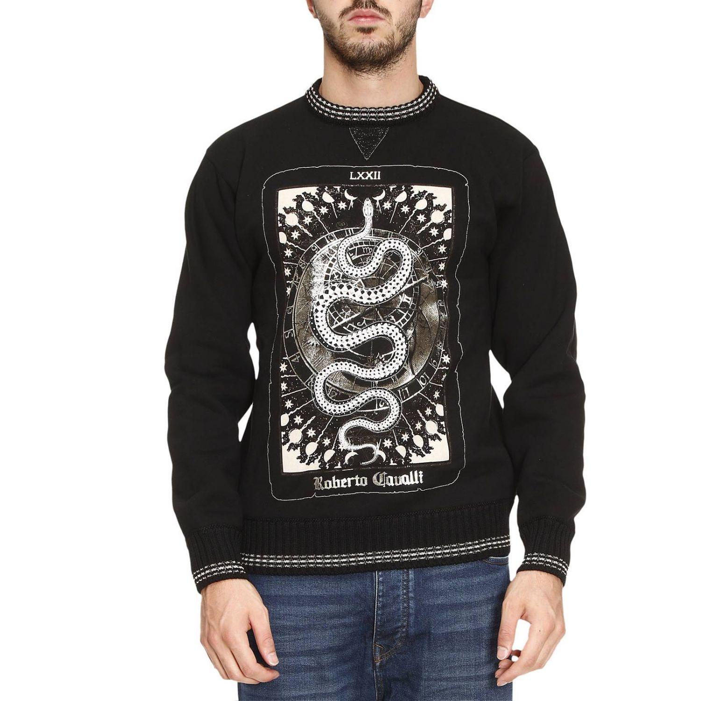 Sweatshirt Sweater Men Roberto Cavalli