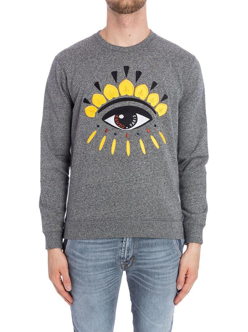 Kenzo Eye Classic Cotton Blend Sweatshirt