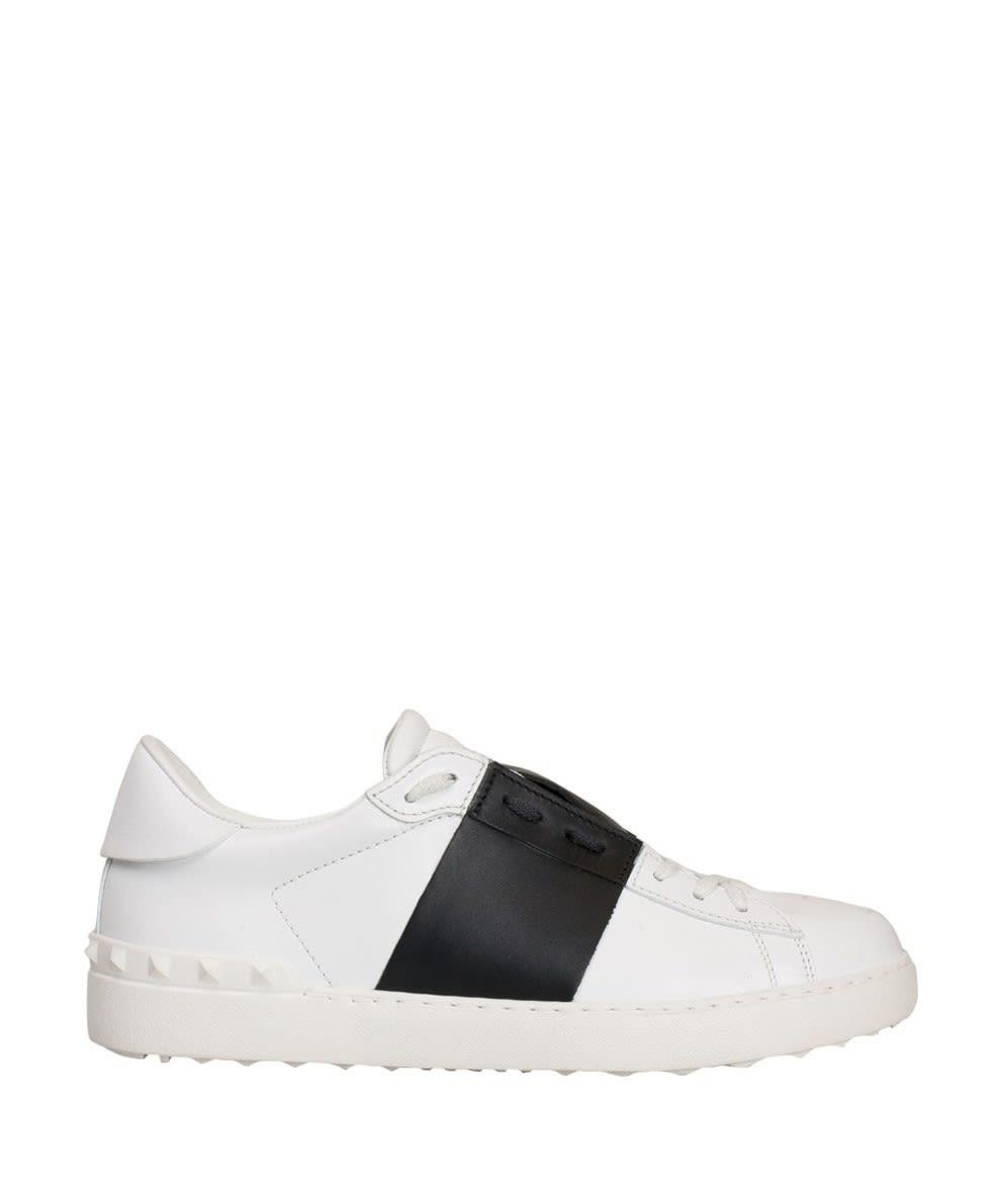 Valentino Garavani Open Leather Sneakers