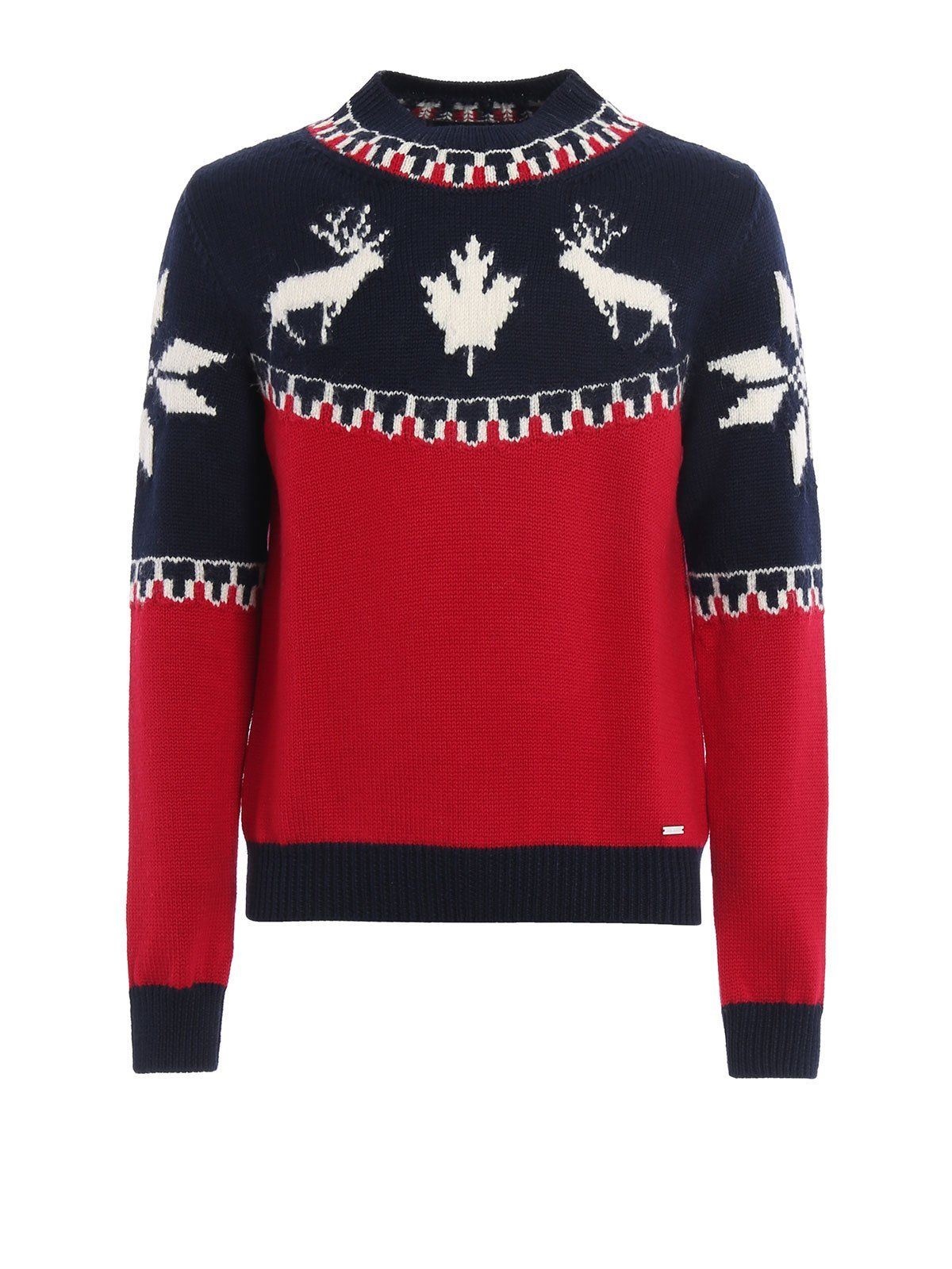 Dsquared2 Knit Mountain Sweater