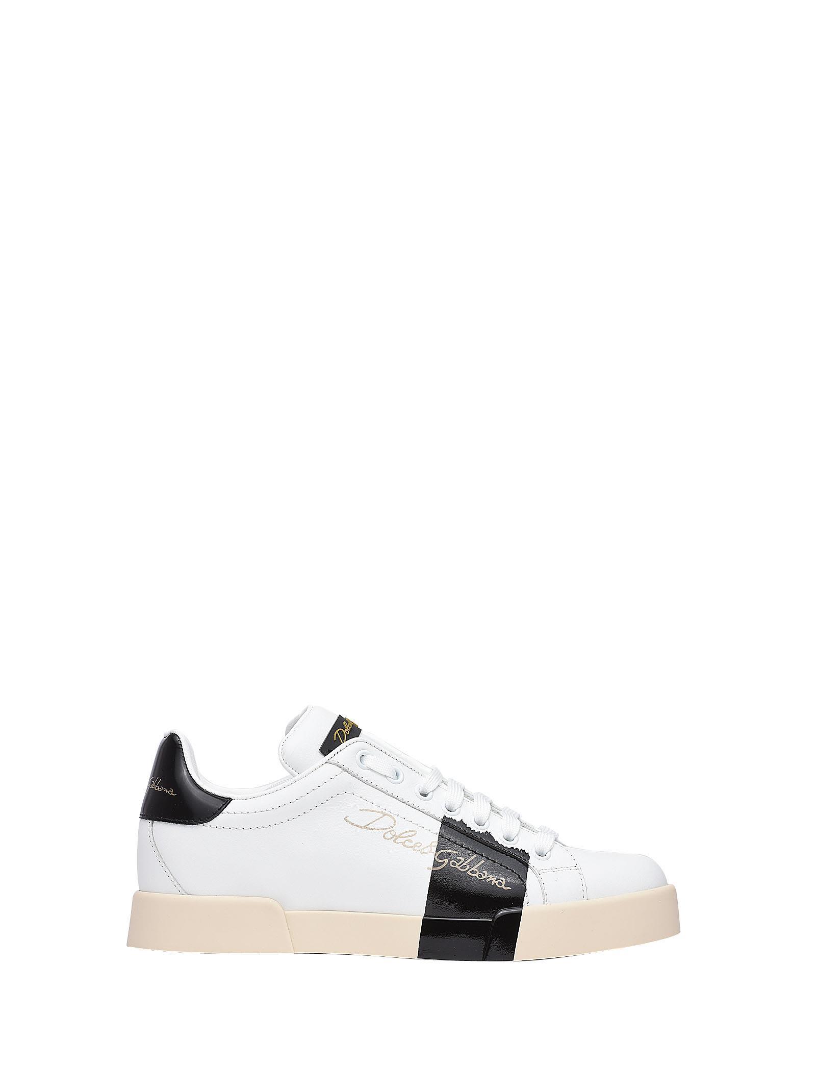 Dolce & gabbana Sneakers White-black