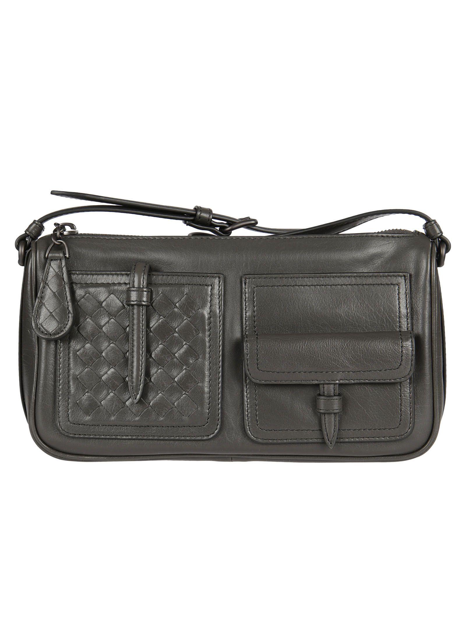 Bottega Veneta Simple Pocket Shoulder Bag