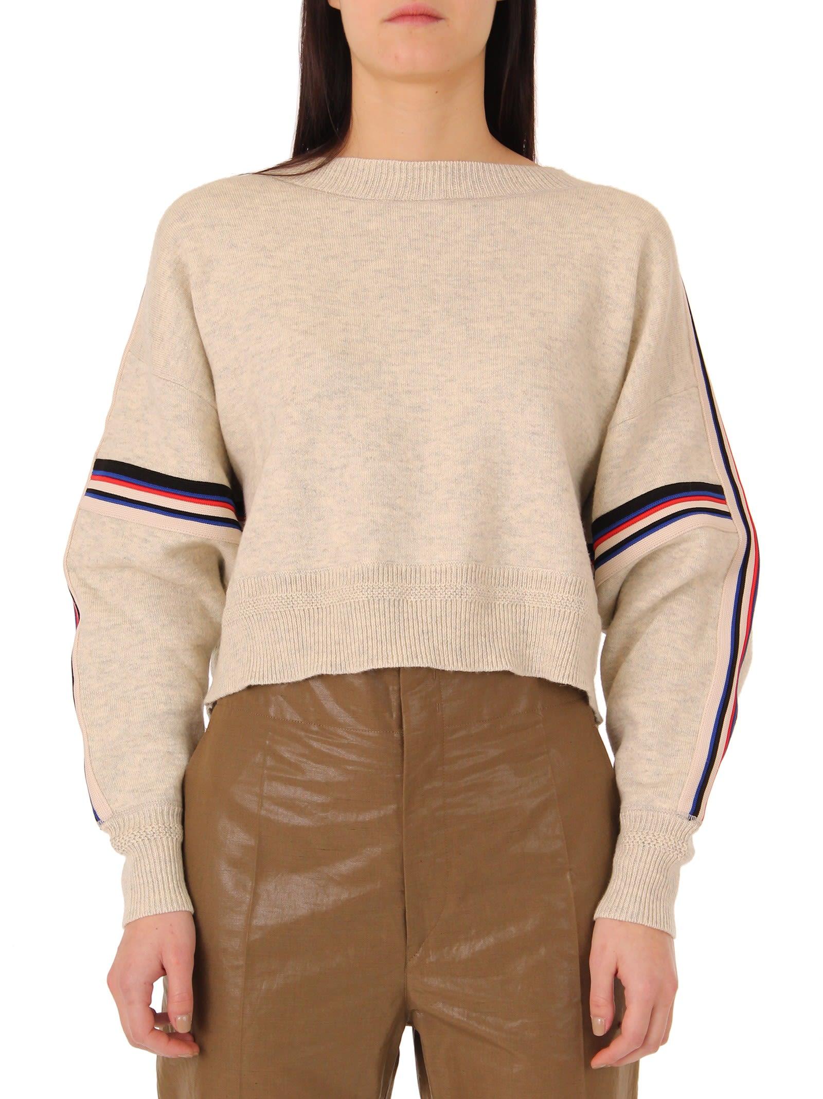Isabel Marant Etoile Light Grey Kao Pullover