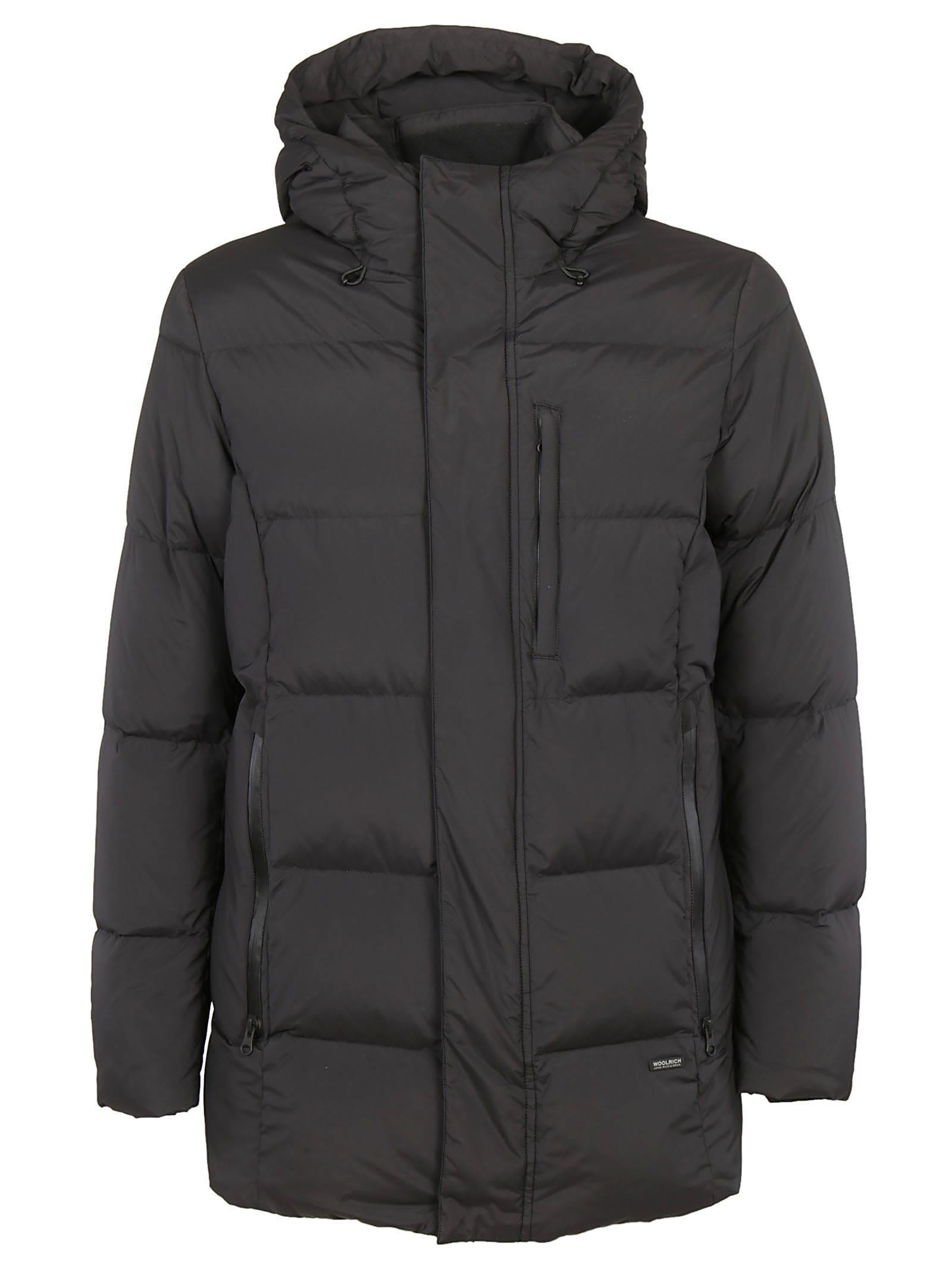 woolrich woolrich comfort parka black men 39 s coats italist. Black Bedroom Furniture Sets. Home Design Ideas