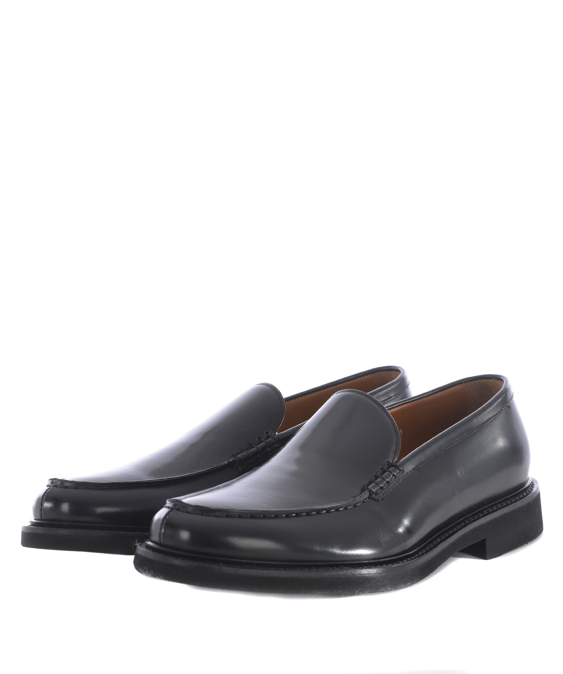 Doucals Round Toe Loafers