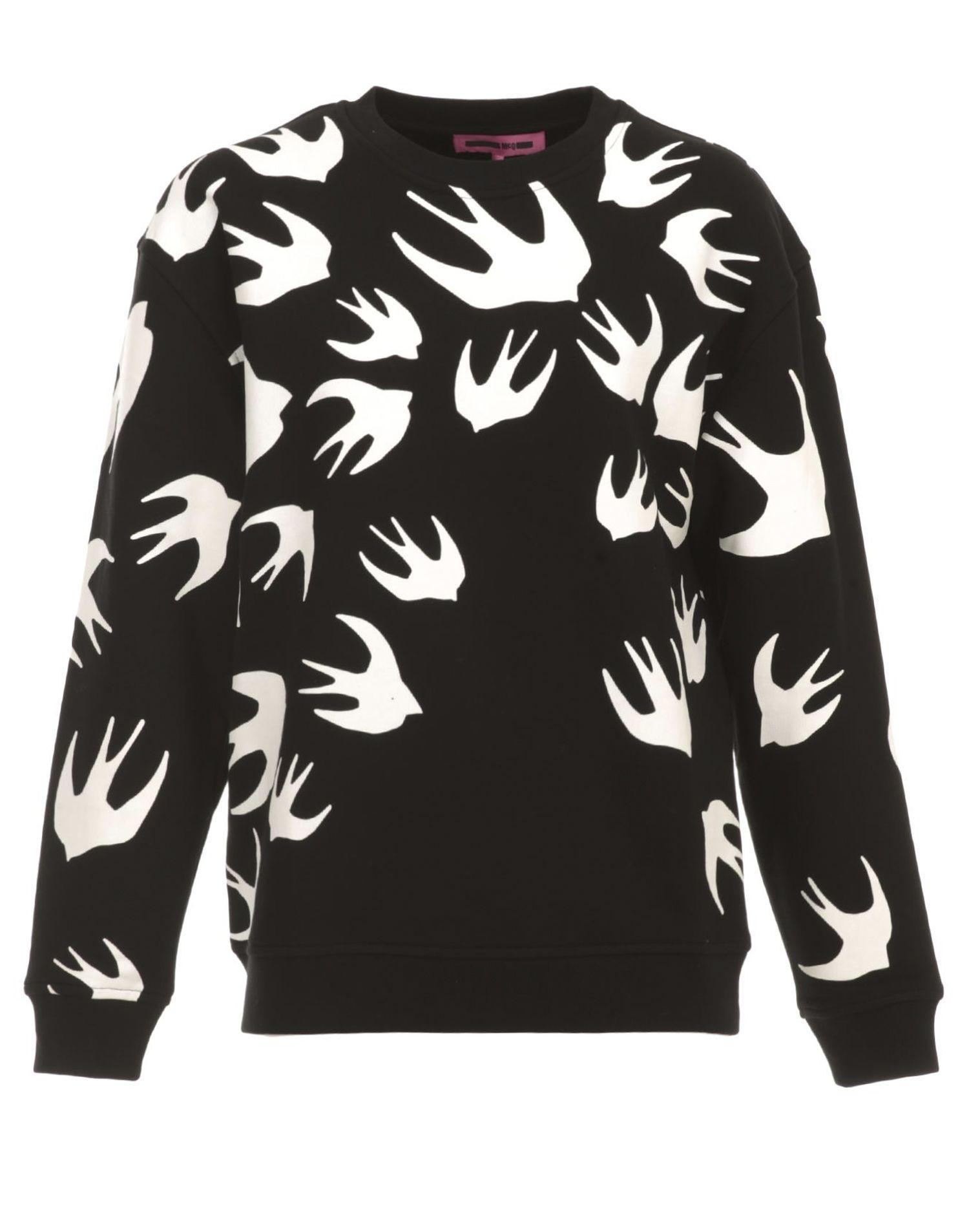 McQ Alexander McQueen Swallow Swarm Sweatshirt