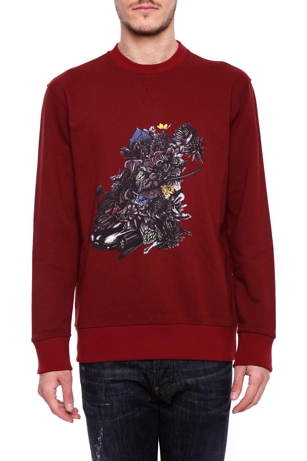 Drive Print Sweatshirt