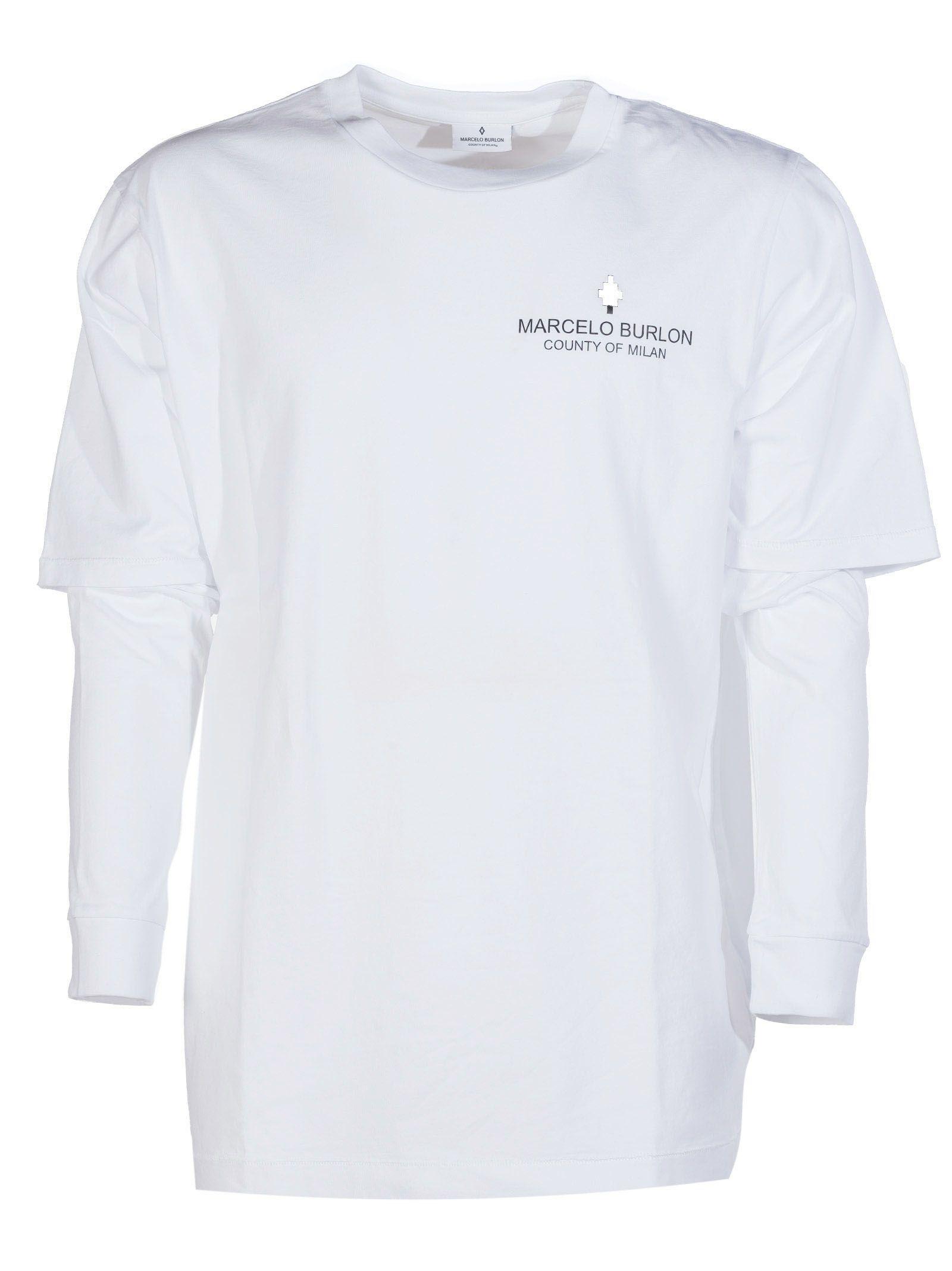 Marcelo Burlon Marcelo Burlon Grey Wing T-shirt