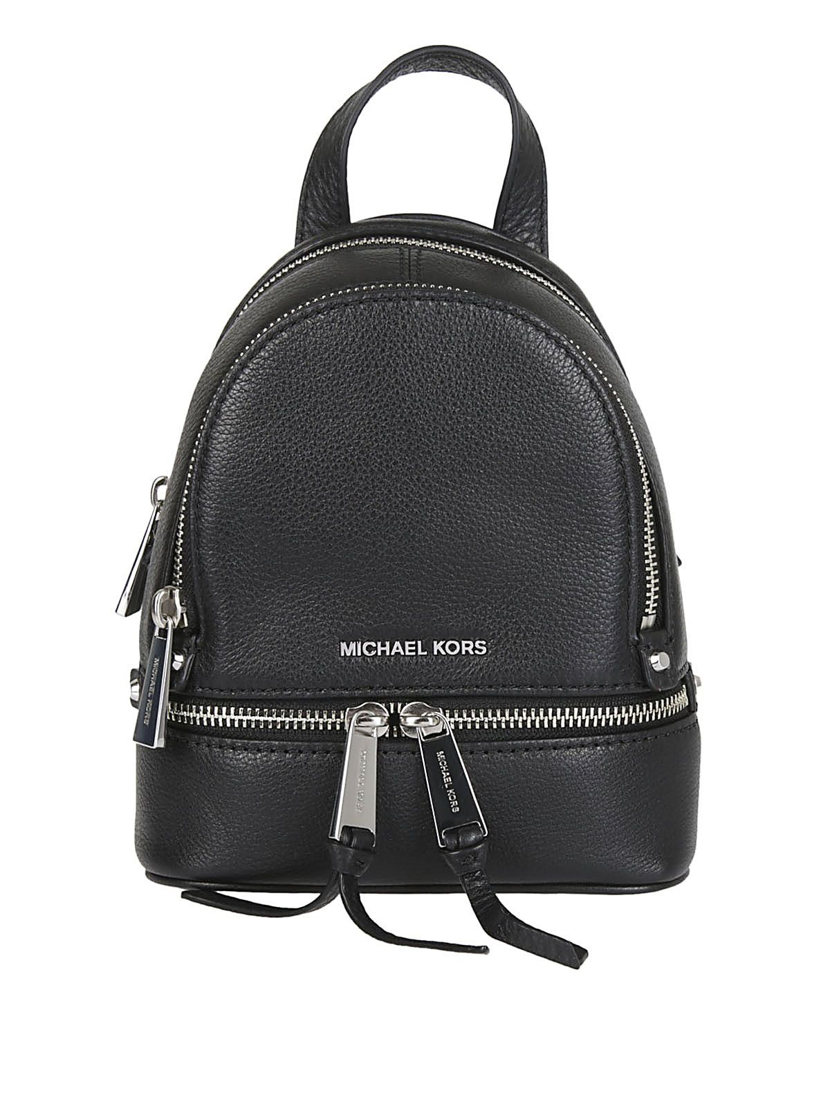 Michael Kors Rhea Extra-small Grained Backpack