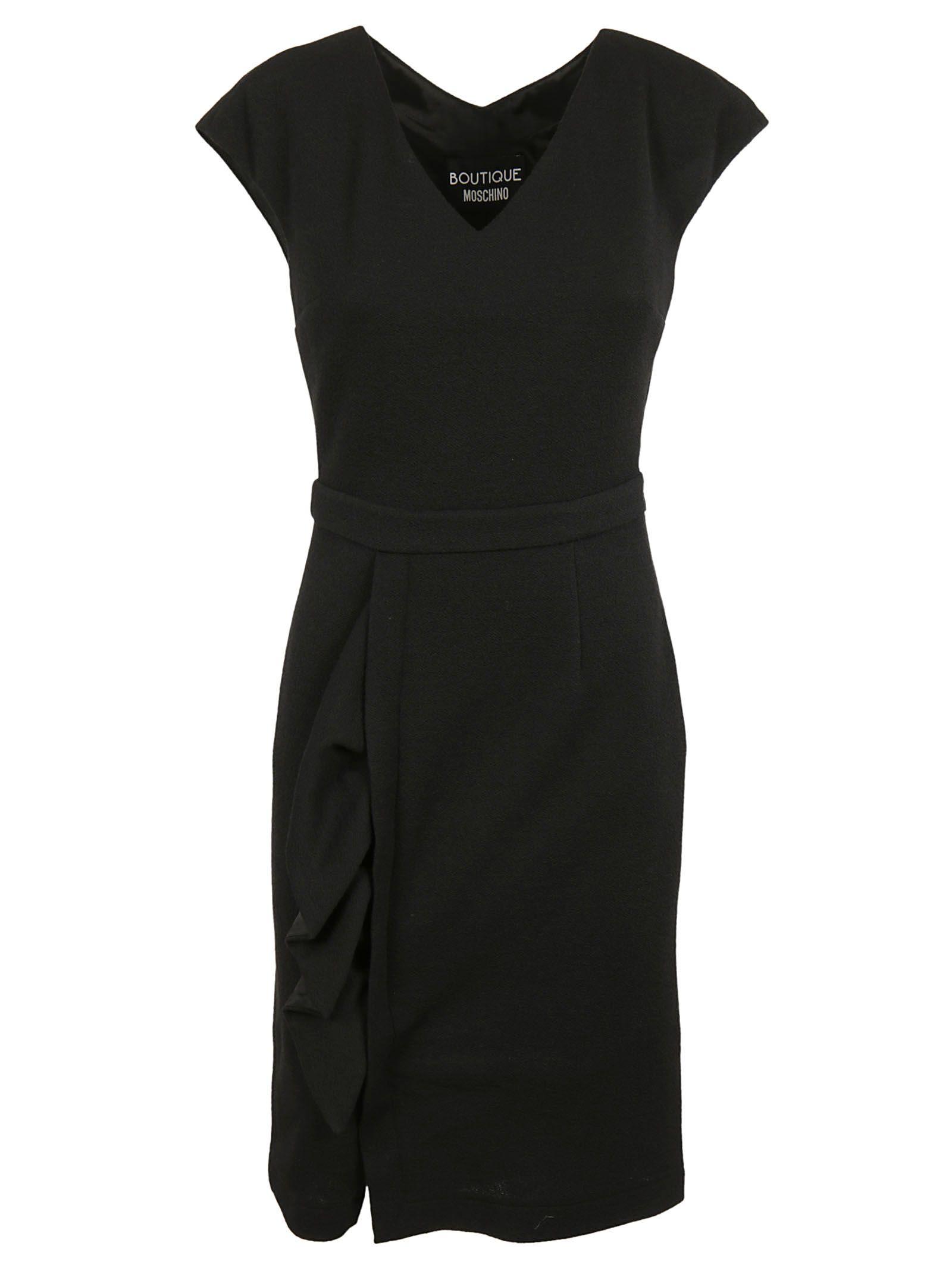 Boutique Moschino V-neck Dress
