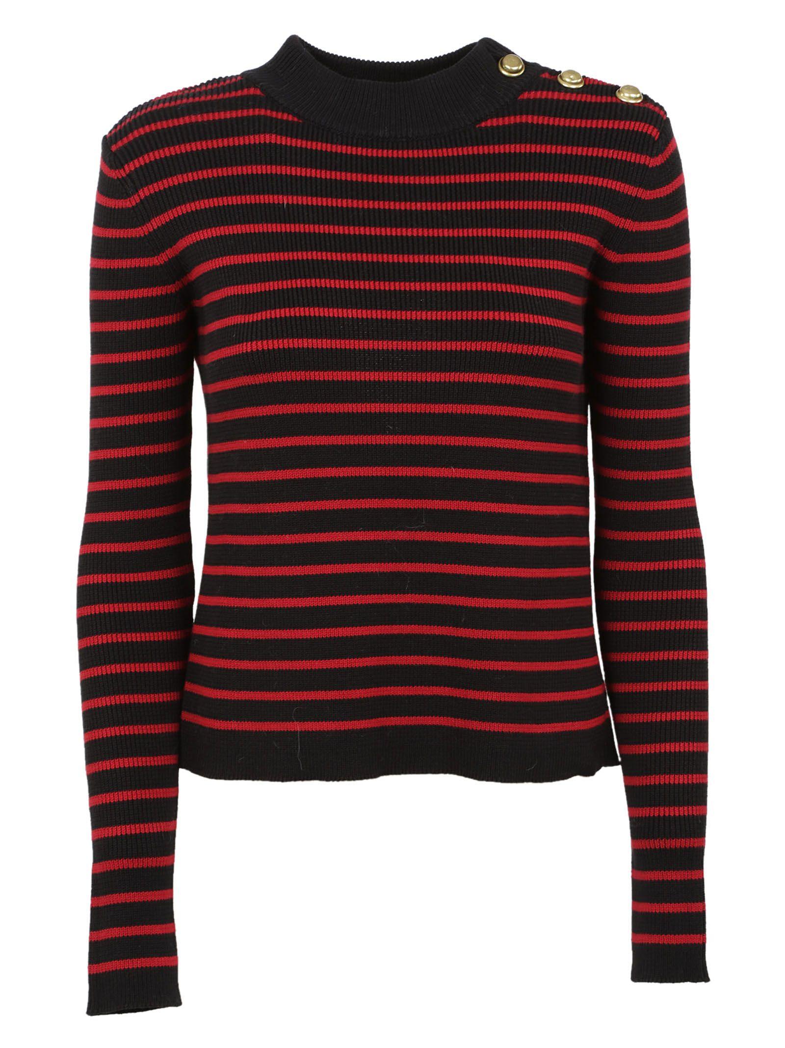 Red Valentino Striped Jumper