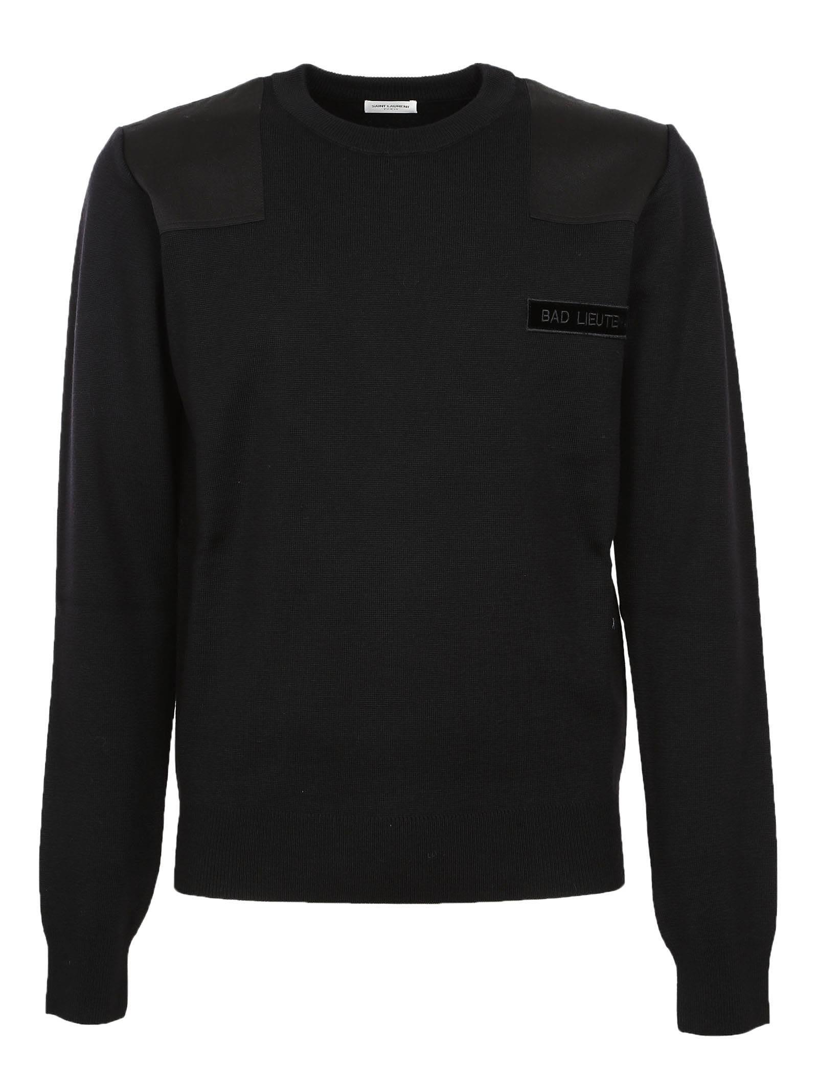 Saint Laurent Patch Sweater