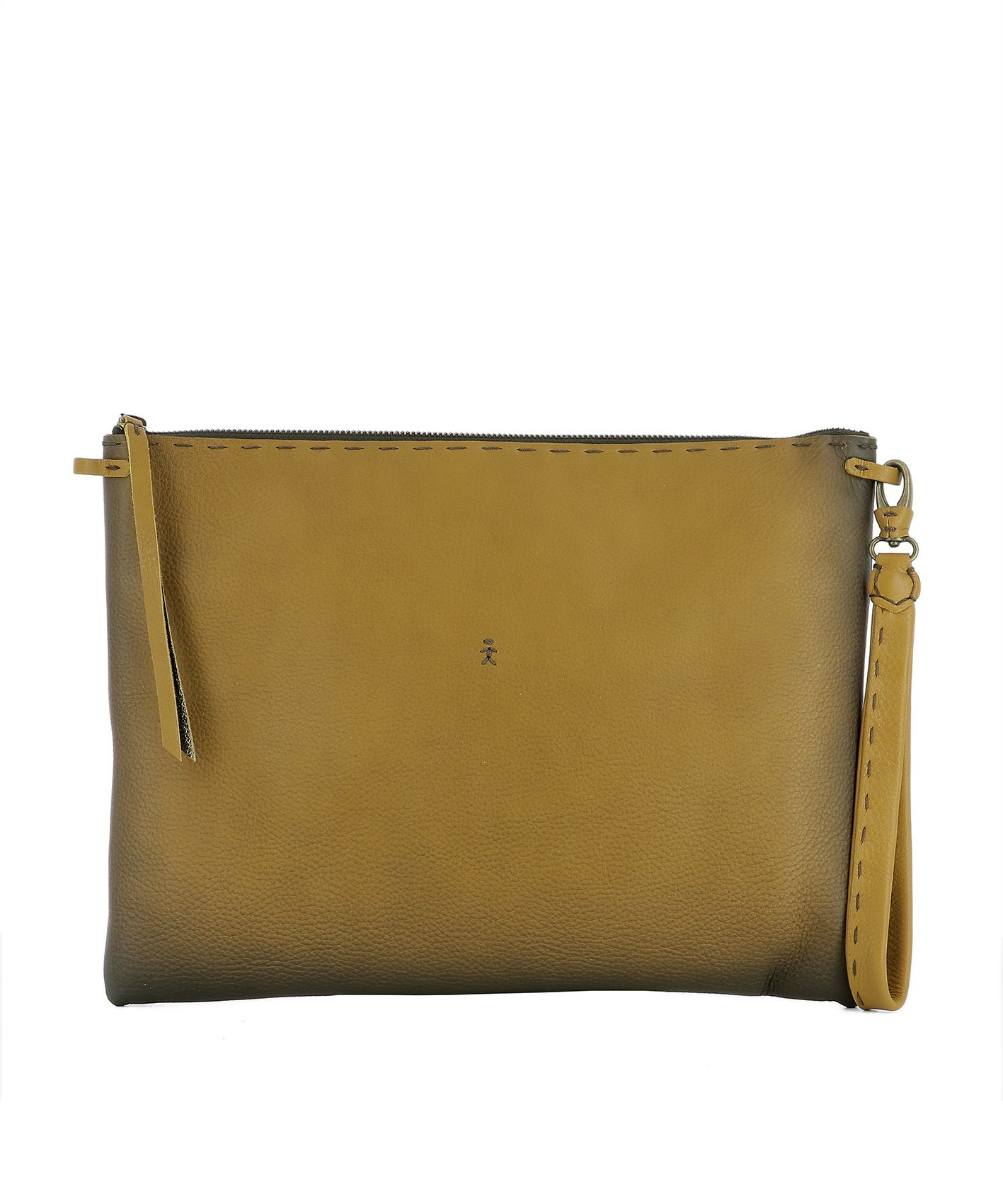 Brown Leather Pochette