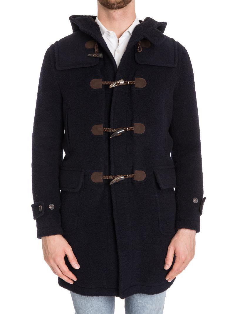 Tagliatore Alpes Virgin Wool Blend Coat