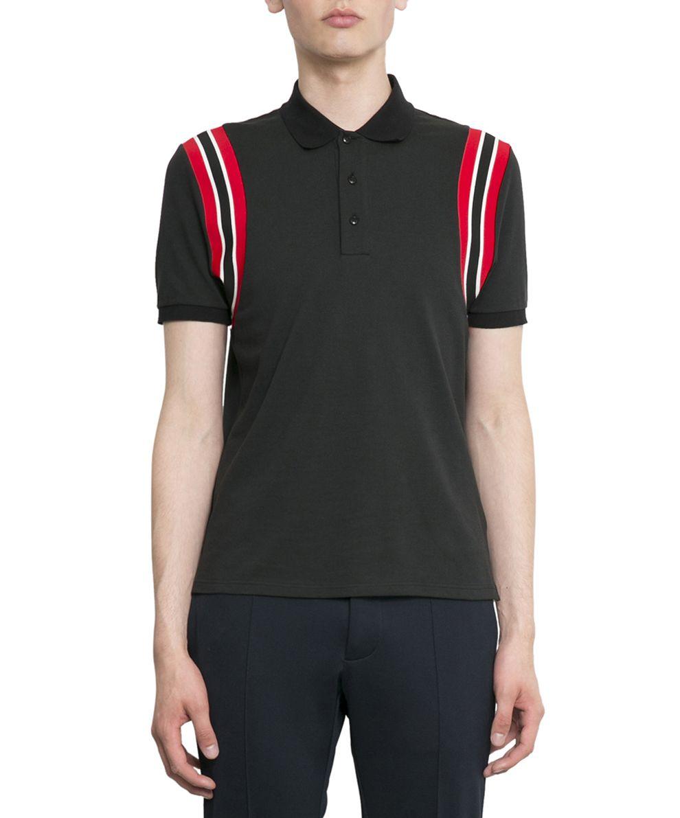 Valentino Logo Cotton Polo Shirt