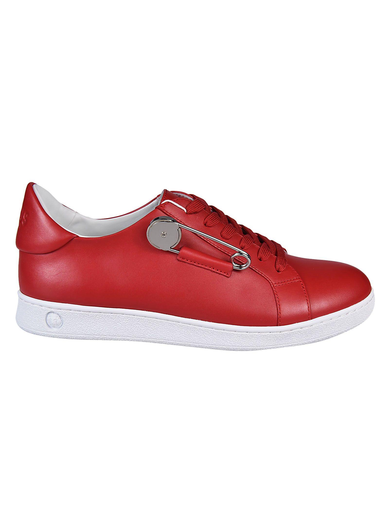 Versus Safety Pin Detail Sneakers
