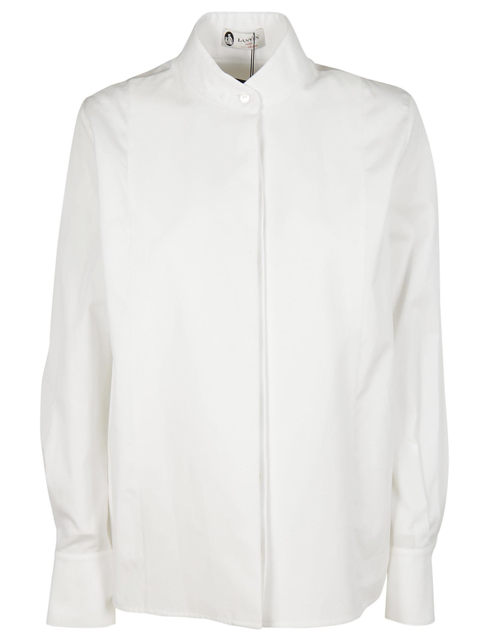 Lanvin Standing Collar Shirt