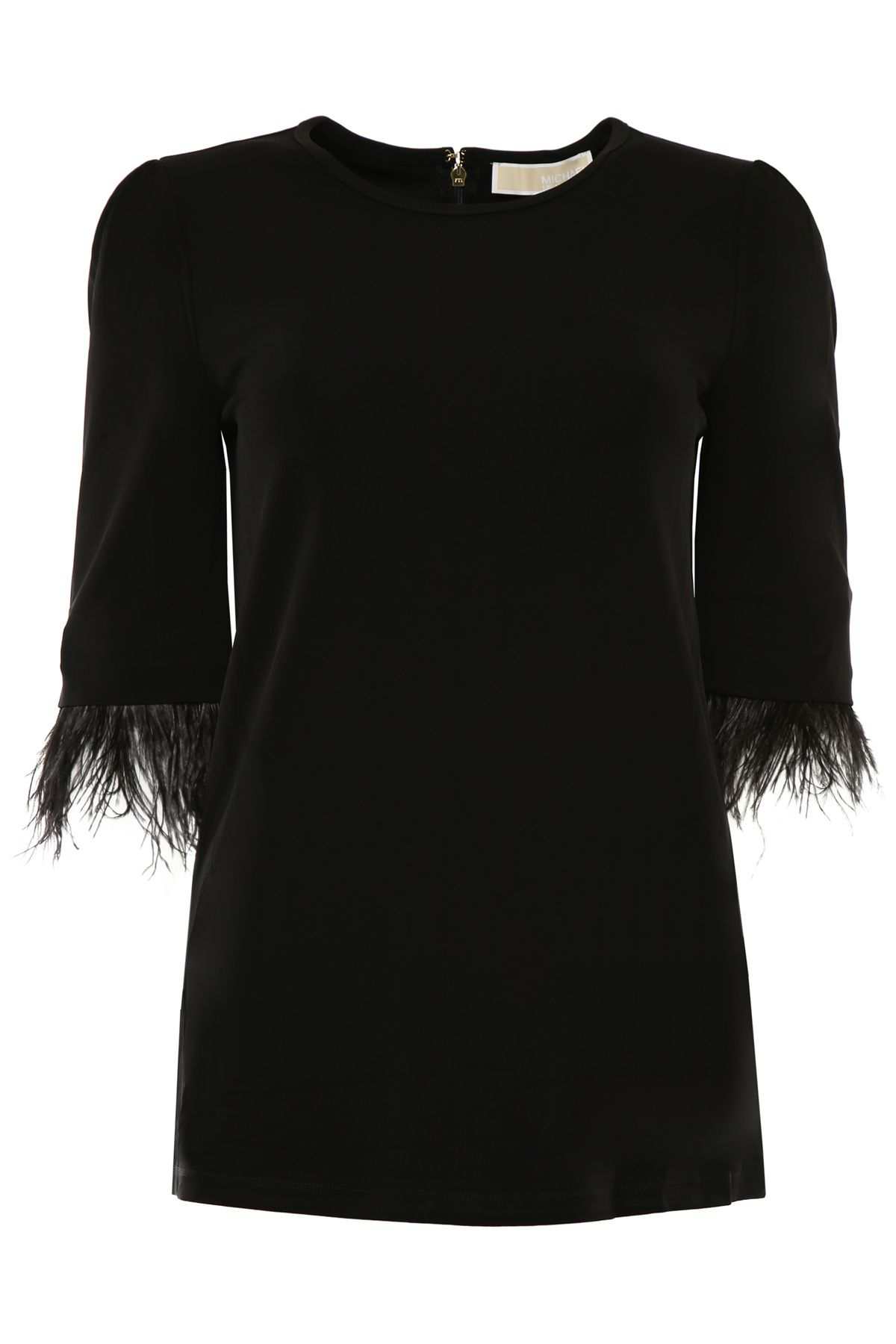 Blouse With Feathers
