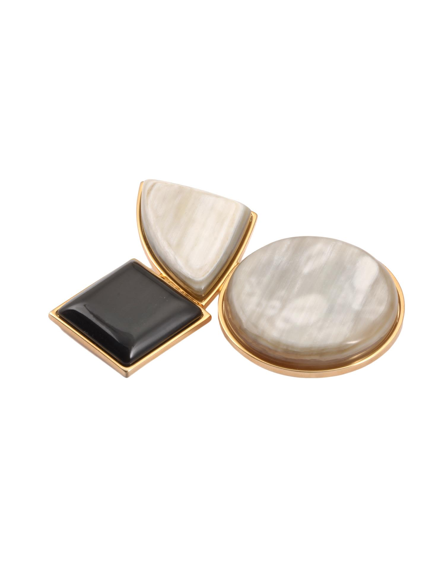Marni Golden Metal Brooch