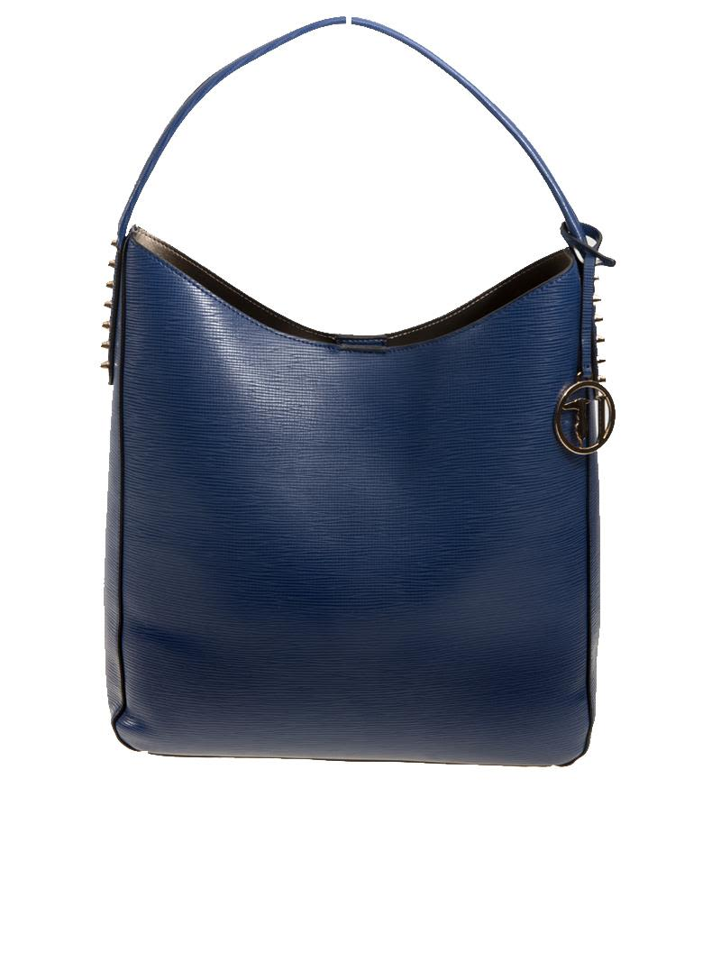 Trussardi Aspen Faux Leather Tote Bag