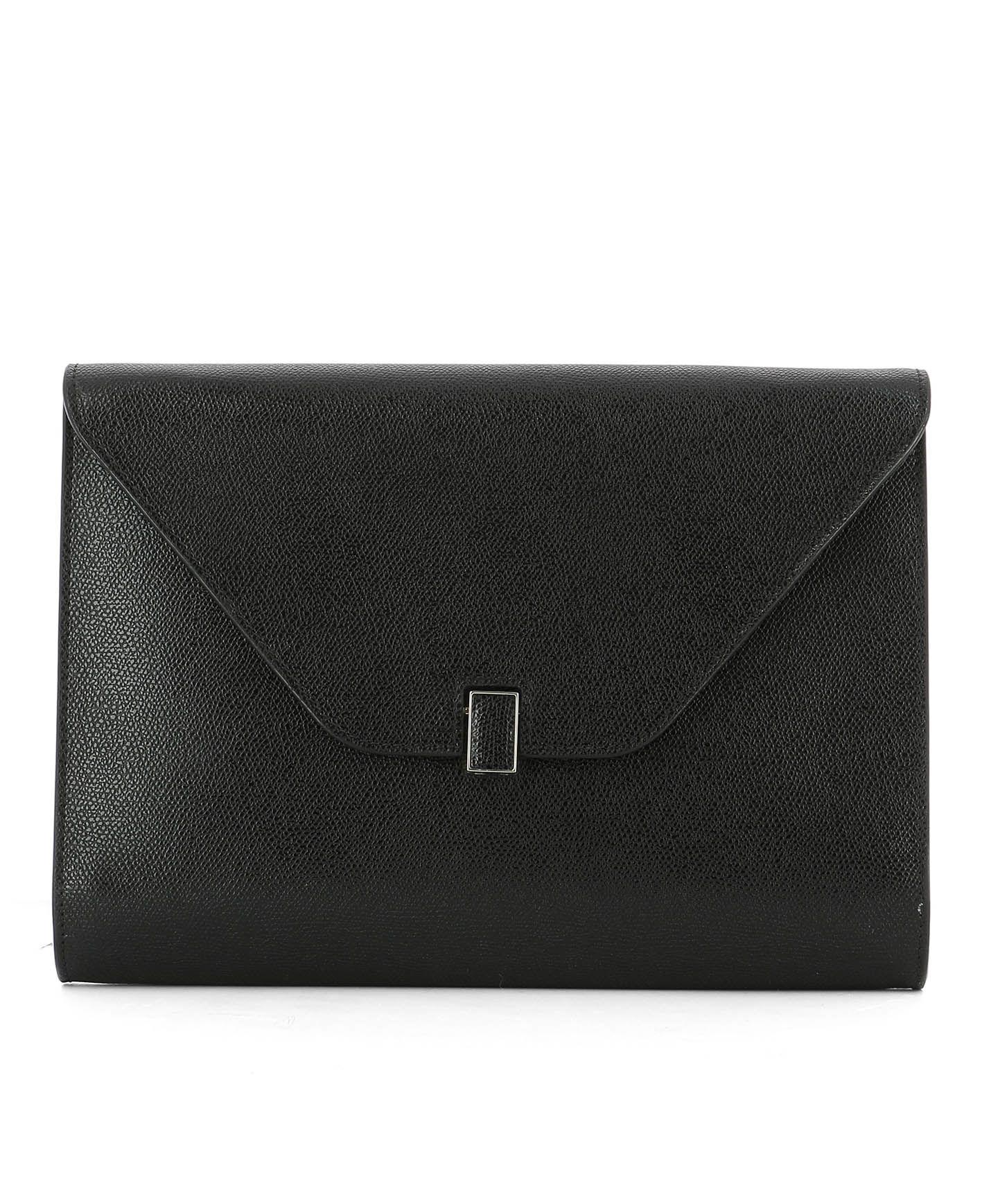 Black Leather Pochette.