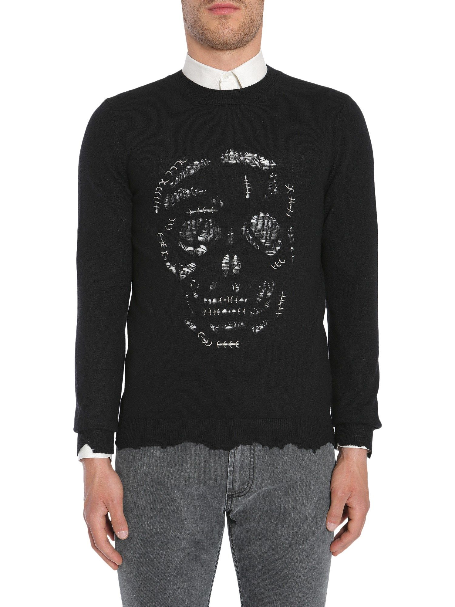 Punk Skull Jumper
