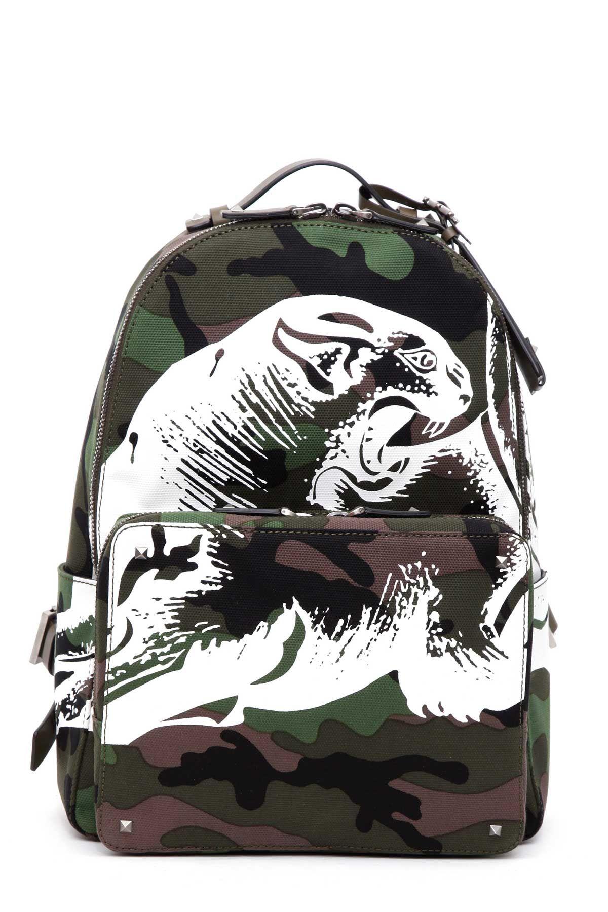Valentino Garavani camupanther Backpack
