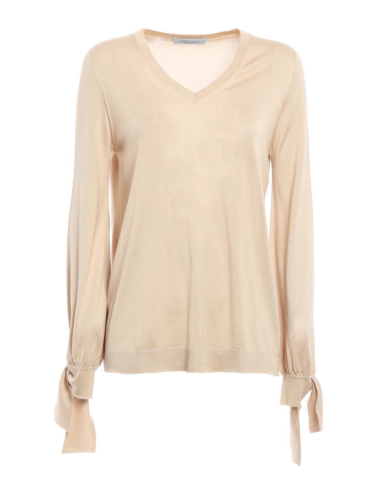 Blumarine V Neck Blouse