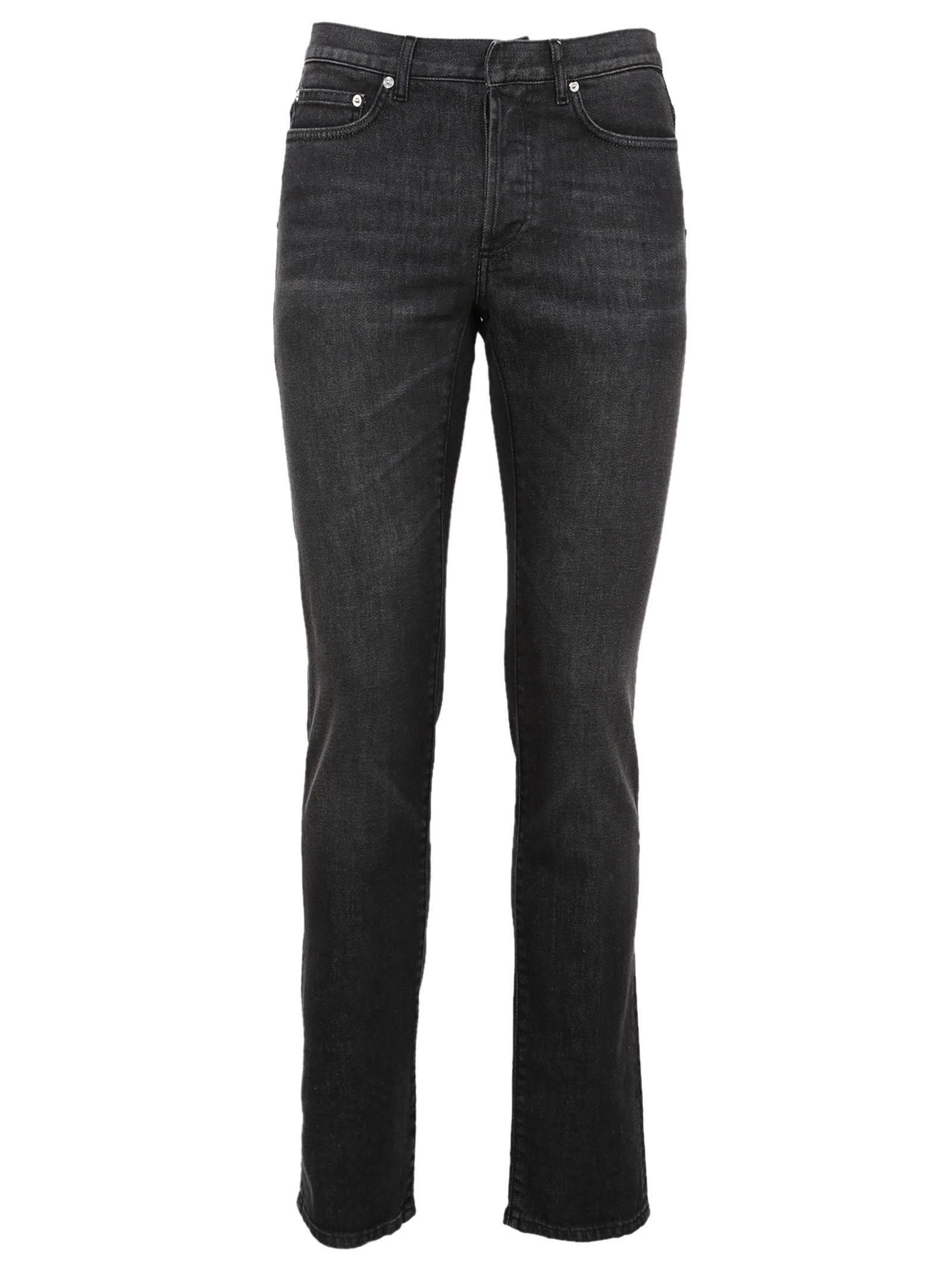 dior homme dior homme classic skinny jeans antracite men 39 s jeans italist. Black Bedroom Furniture Sets. Home Design Ideas
