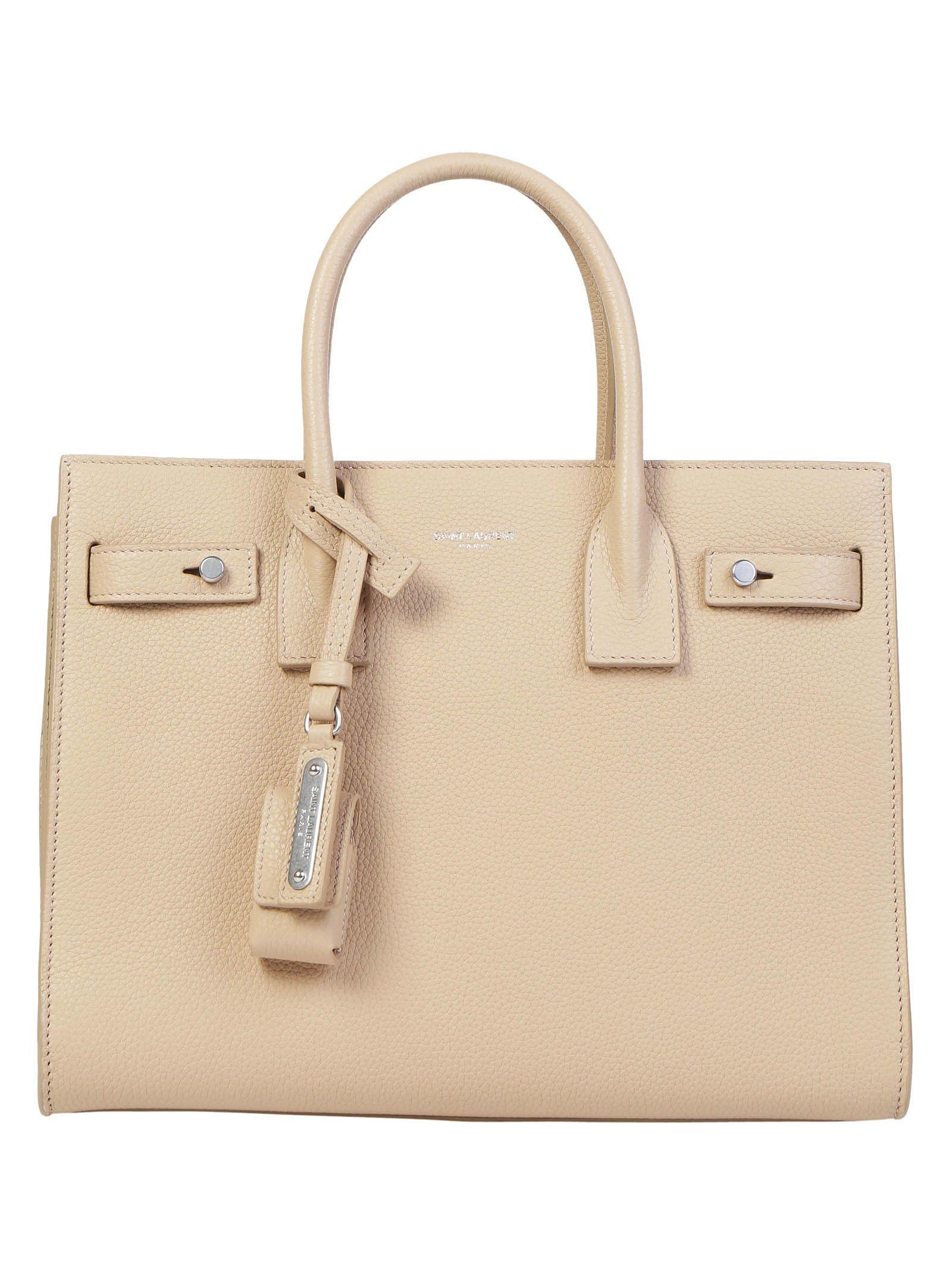 Saint Laurent Baby Sac De Jour Souple Tote Handbag