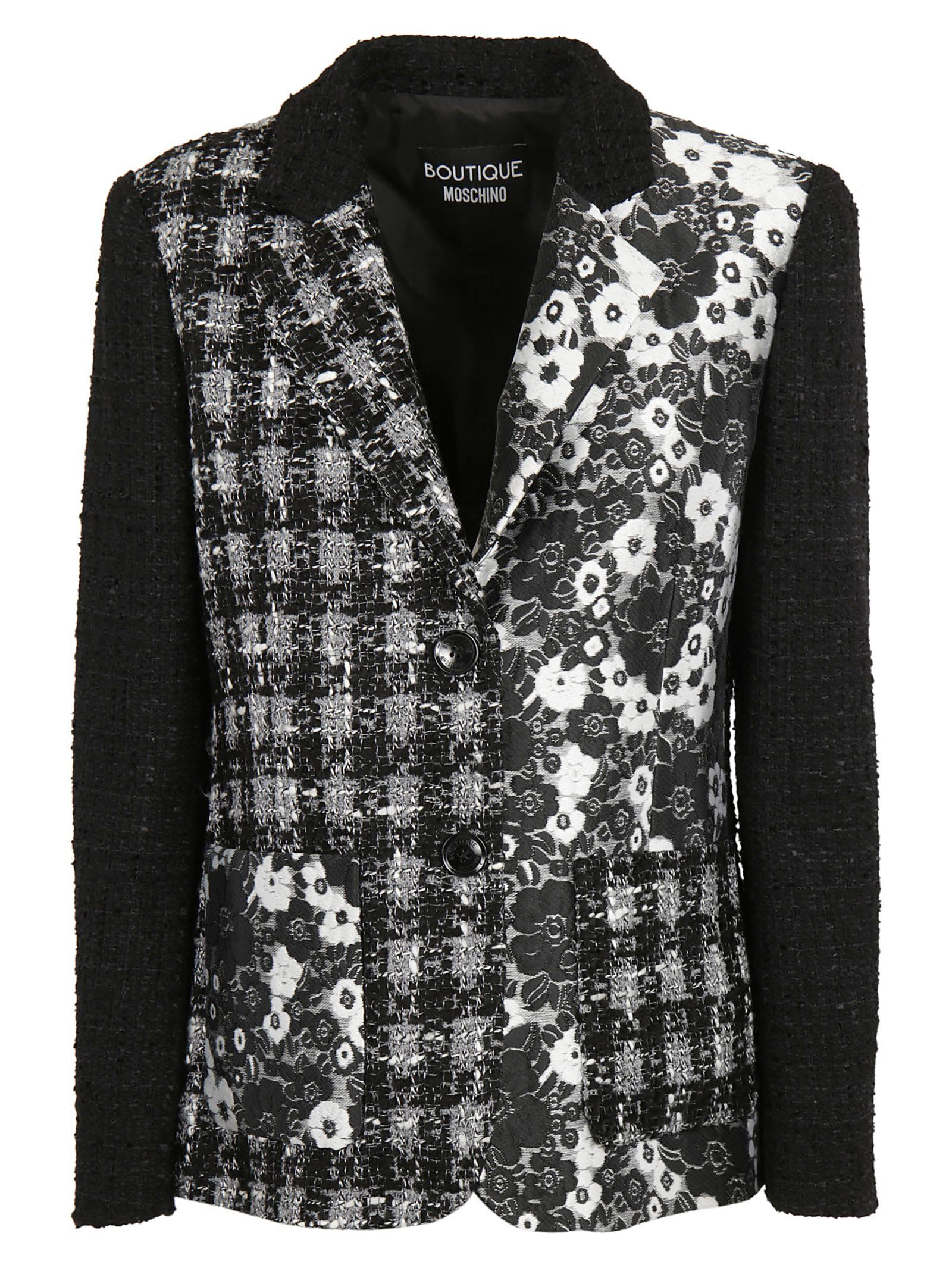 Boutique Moschino Floral Print Jacket