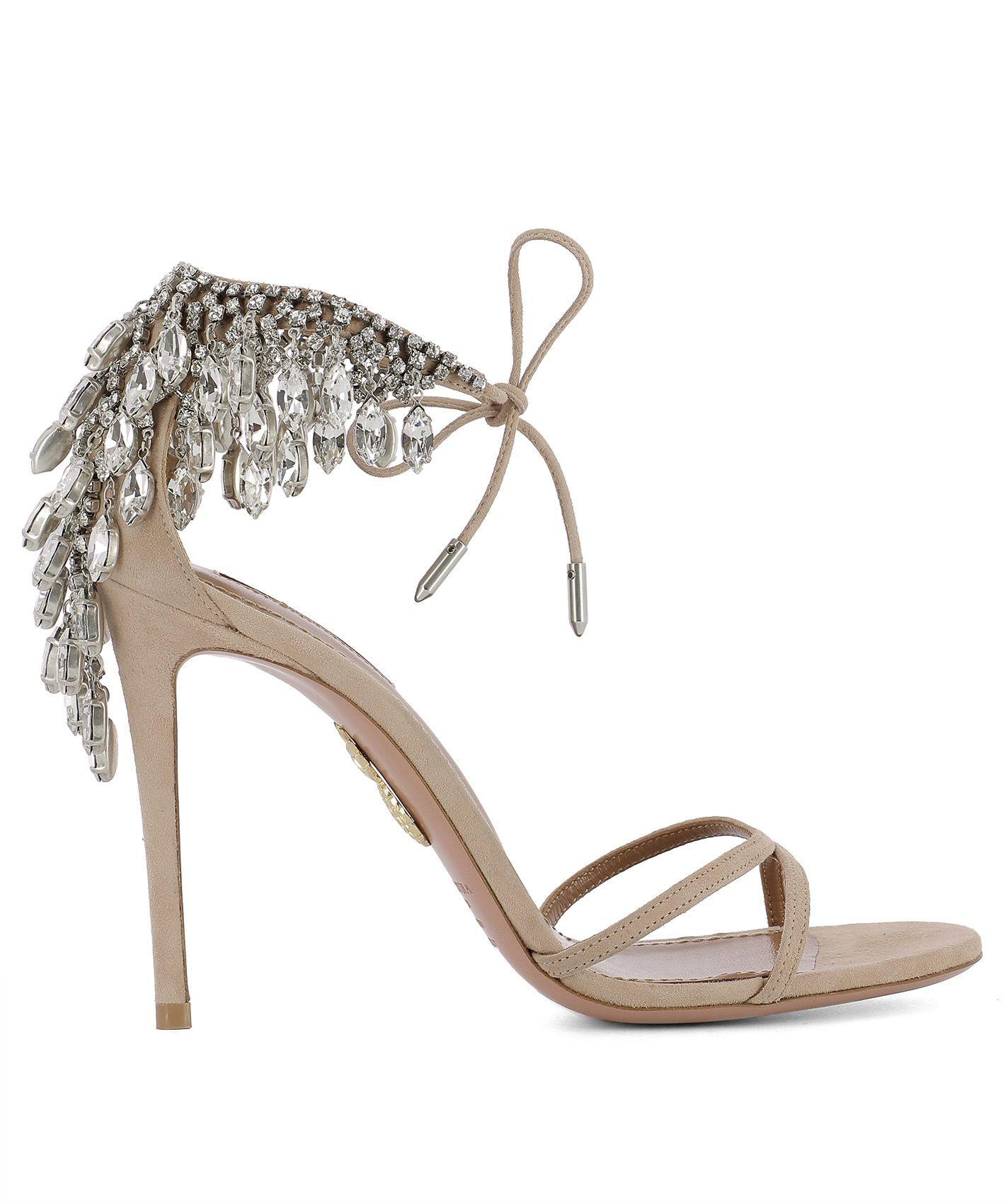 Pink Suede Sandal