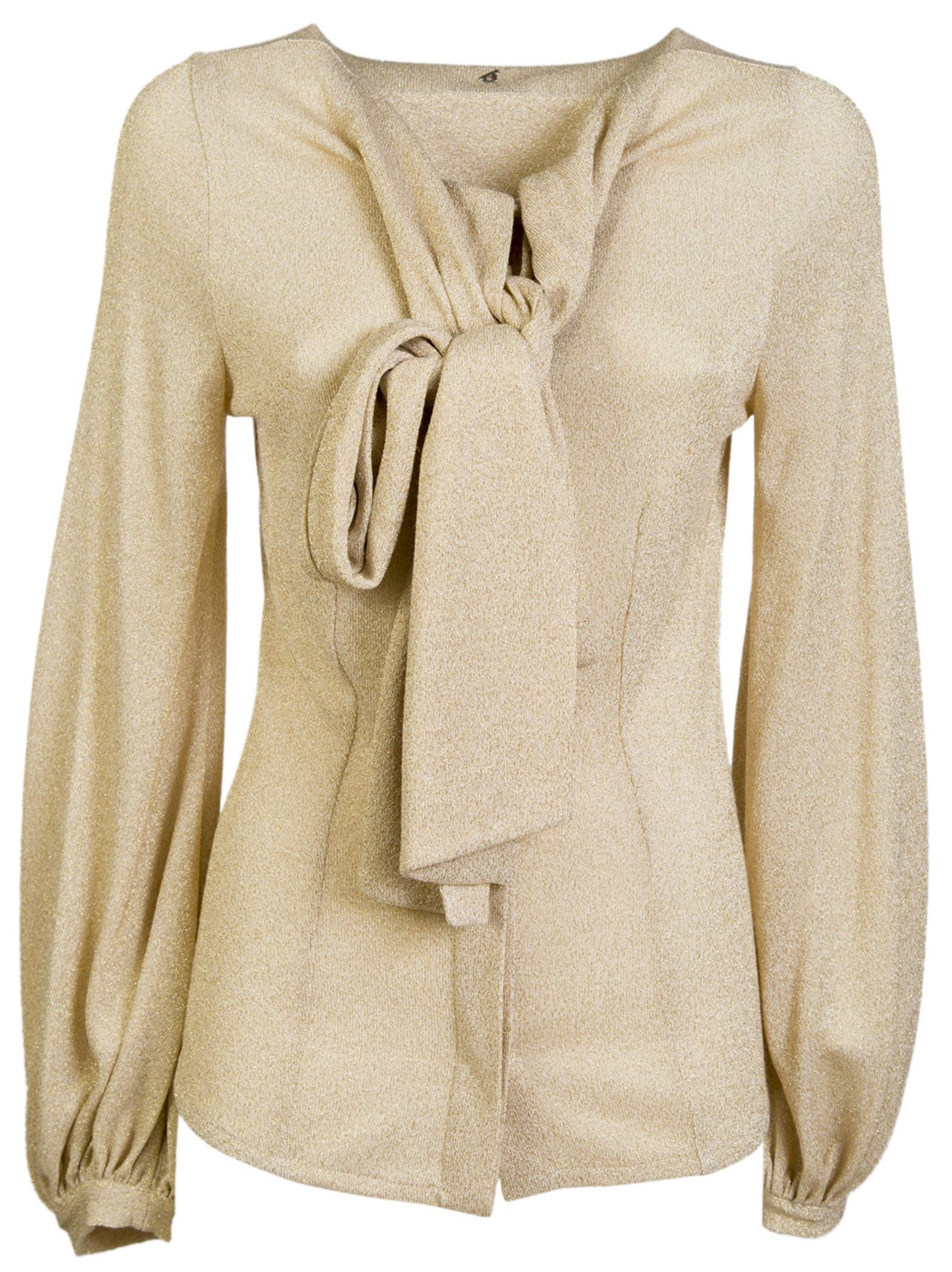 Dondup Wrapped Scarf Top