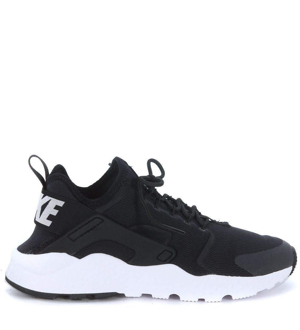 Nike Air Huarache Run Ultra Black Fabric Sneaker