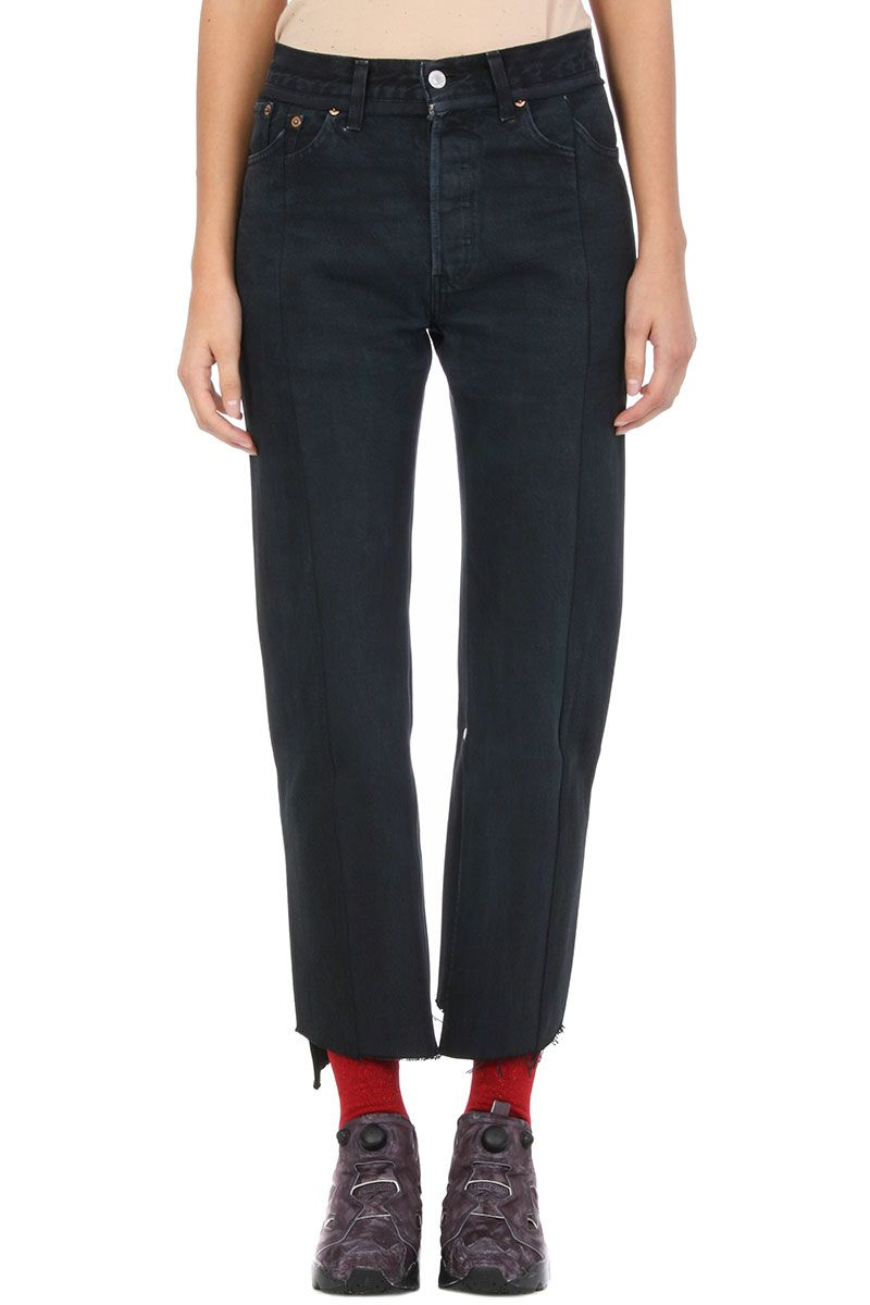 VETEMENTS Vetements X Levi-s Reworked Push Up Black Jeans