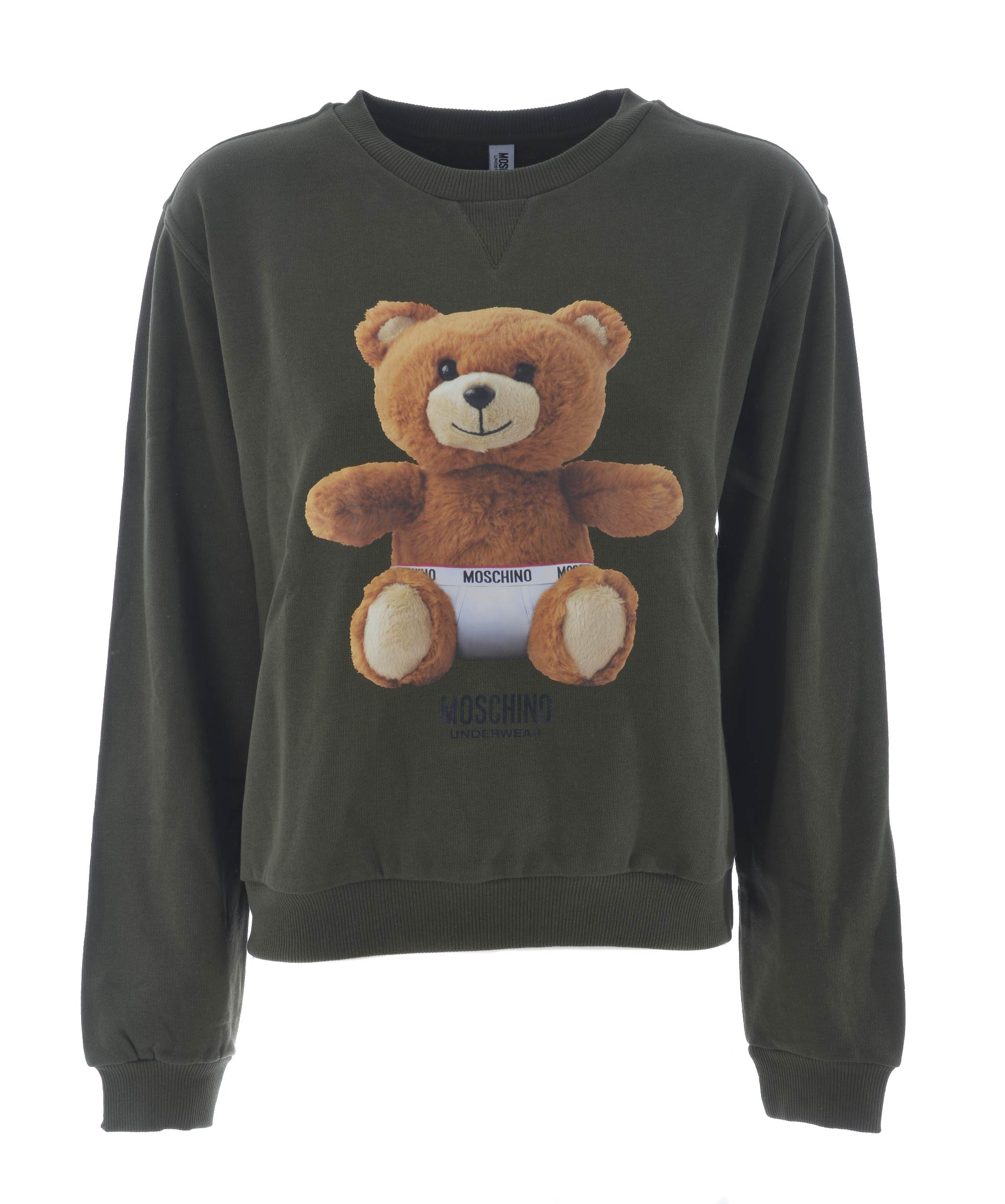 Moschino Teddy Bear Print Sweatshirt