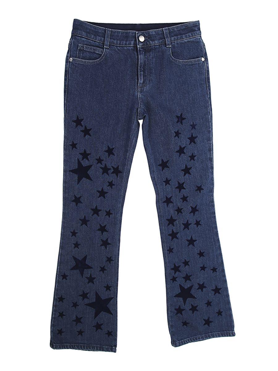 Printed Stars Cotton Skinny Kick Jeans