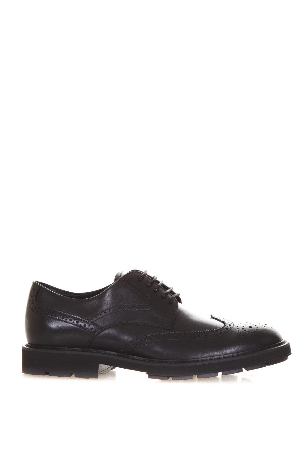 Tods Calf Leather Brogue Lace-up Shoes