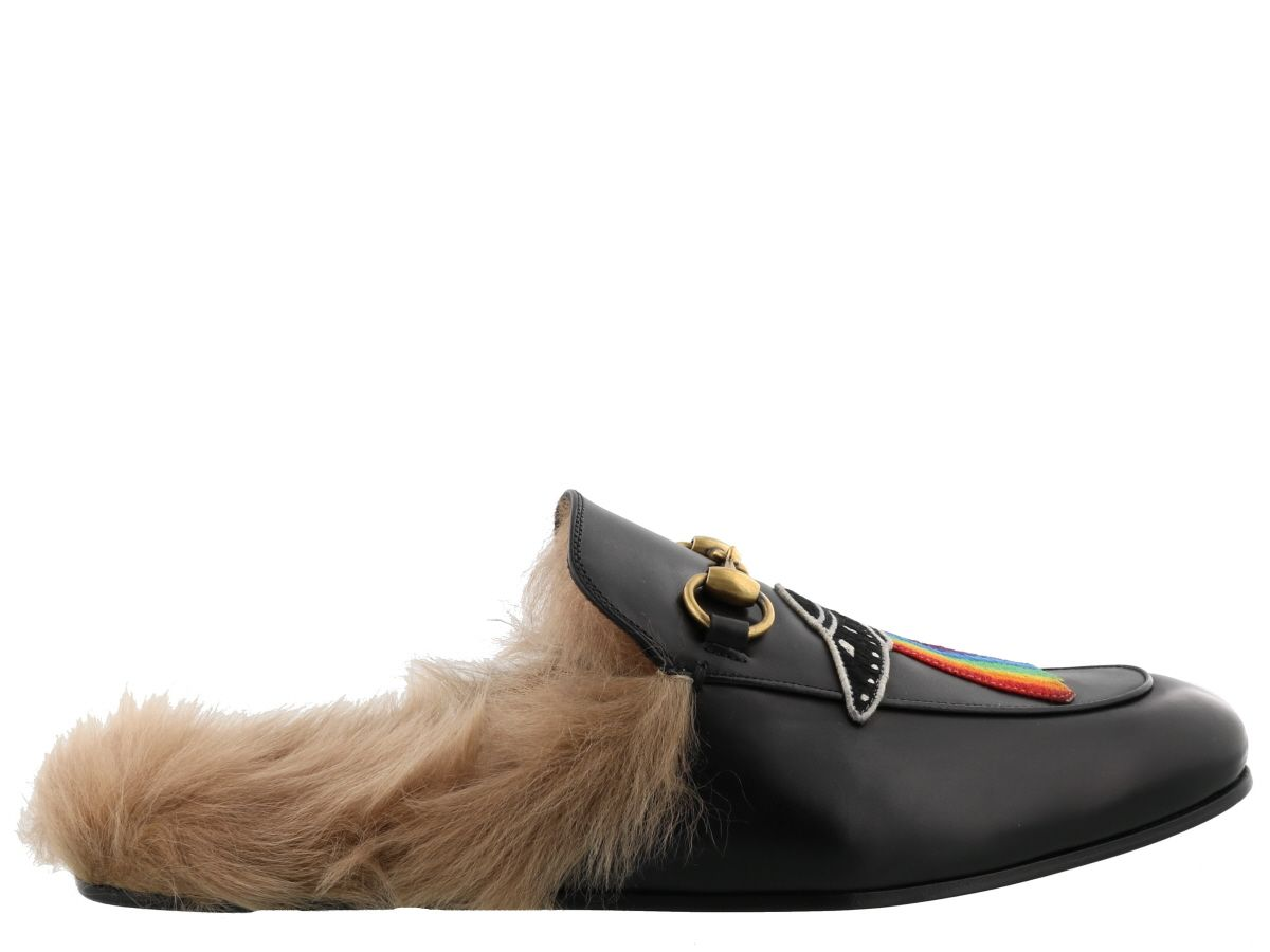 Gucci Leathers UFO DETAIL PRINCETOWN SLIPPER