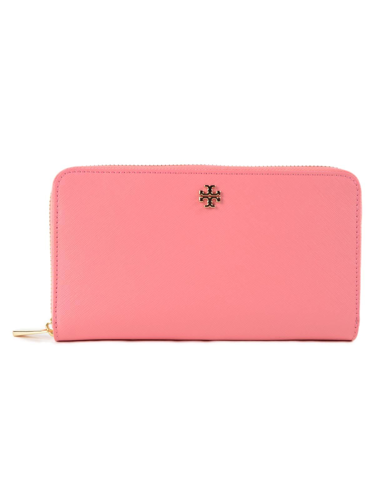 Tory Burch Robinson Zip Around Wallet