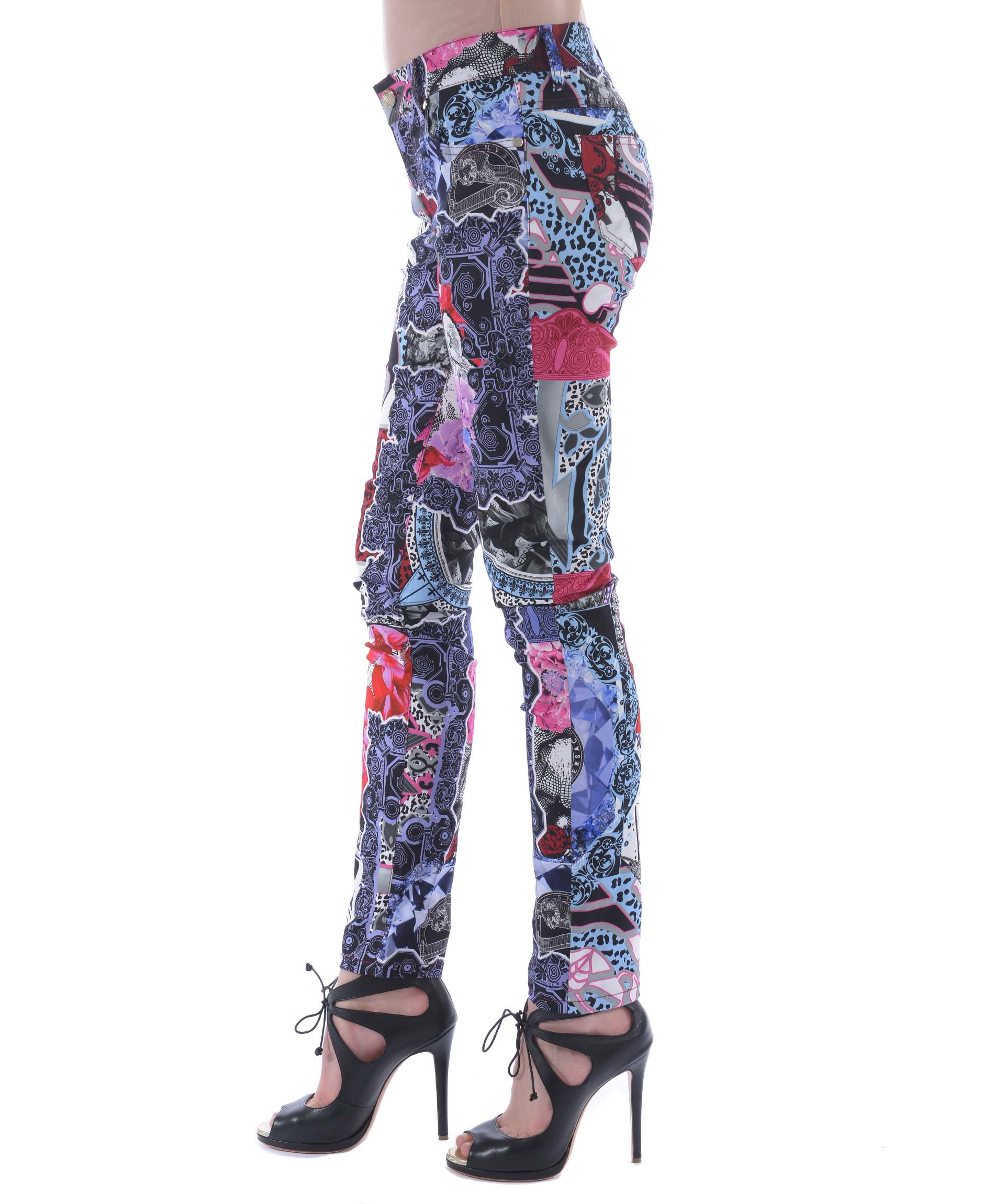 Versace Jeans Printed Jeans