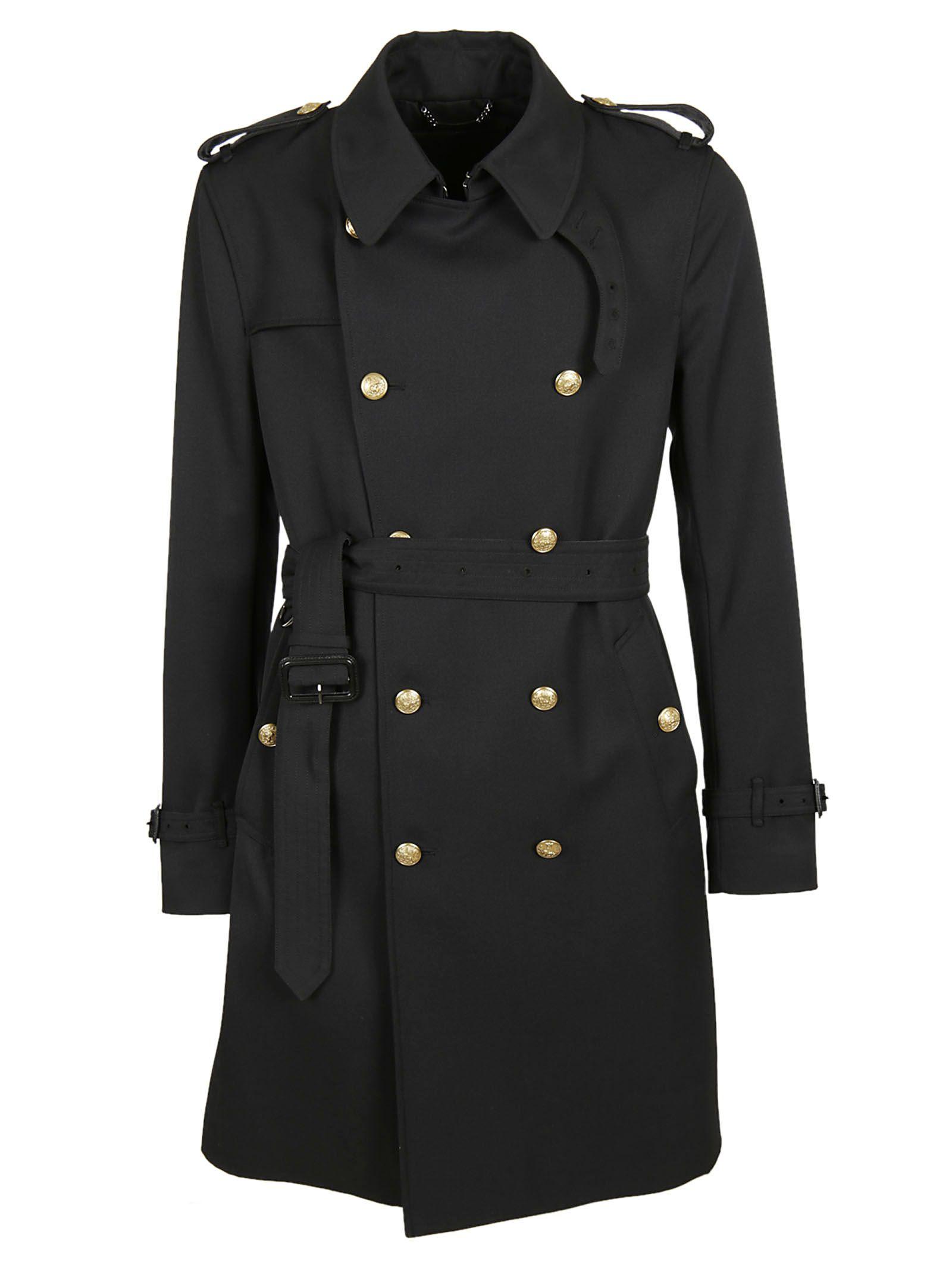 dolce gabbana dolce gabbana classic trench nero men 39 s raincoats italist. Black Bedroom Furniture Sets. Home Design Ideas