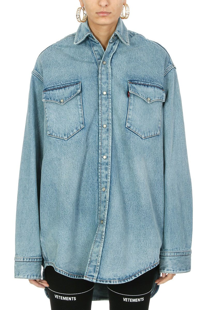 VETEMENTS Vetements X Levi-s Heavy Denim Shirt