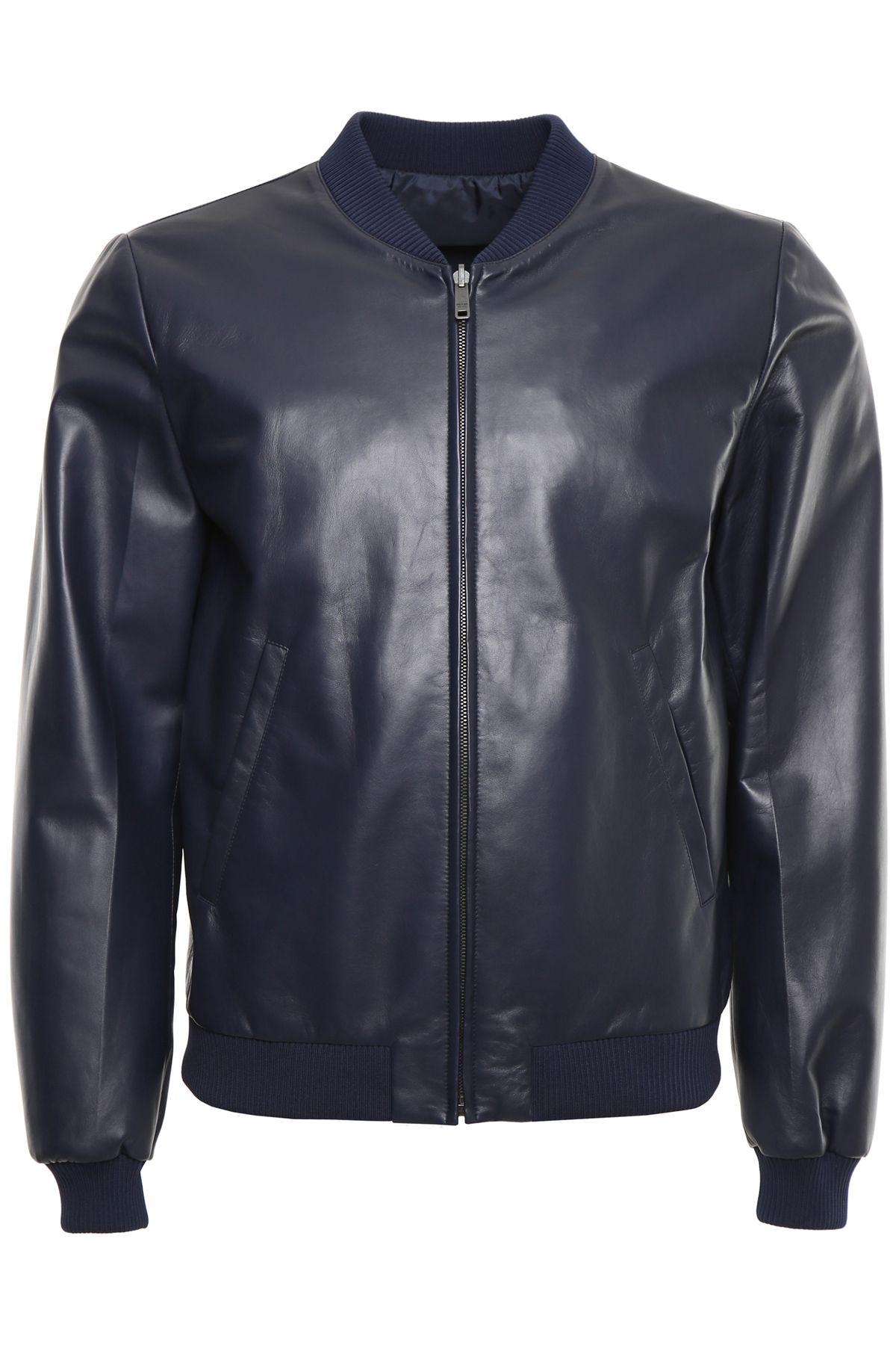 Reversible Nappa Bomber Jacket