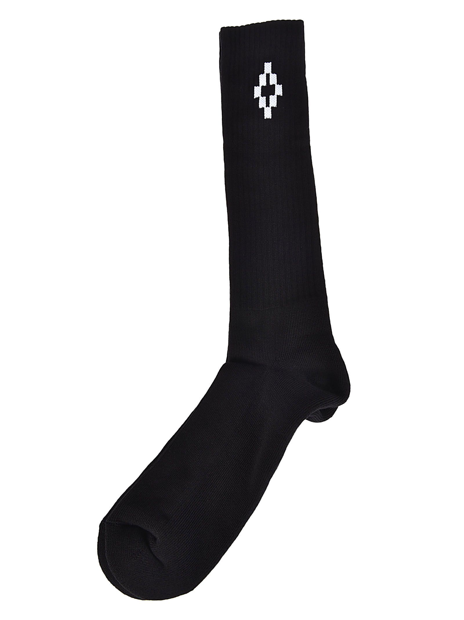 Marcelo Burlon Cruz Long Socks
