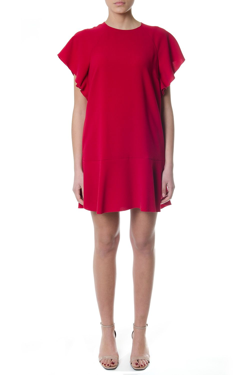 RED Valentino Red Flared T-shirt Dress