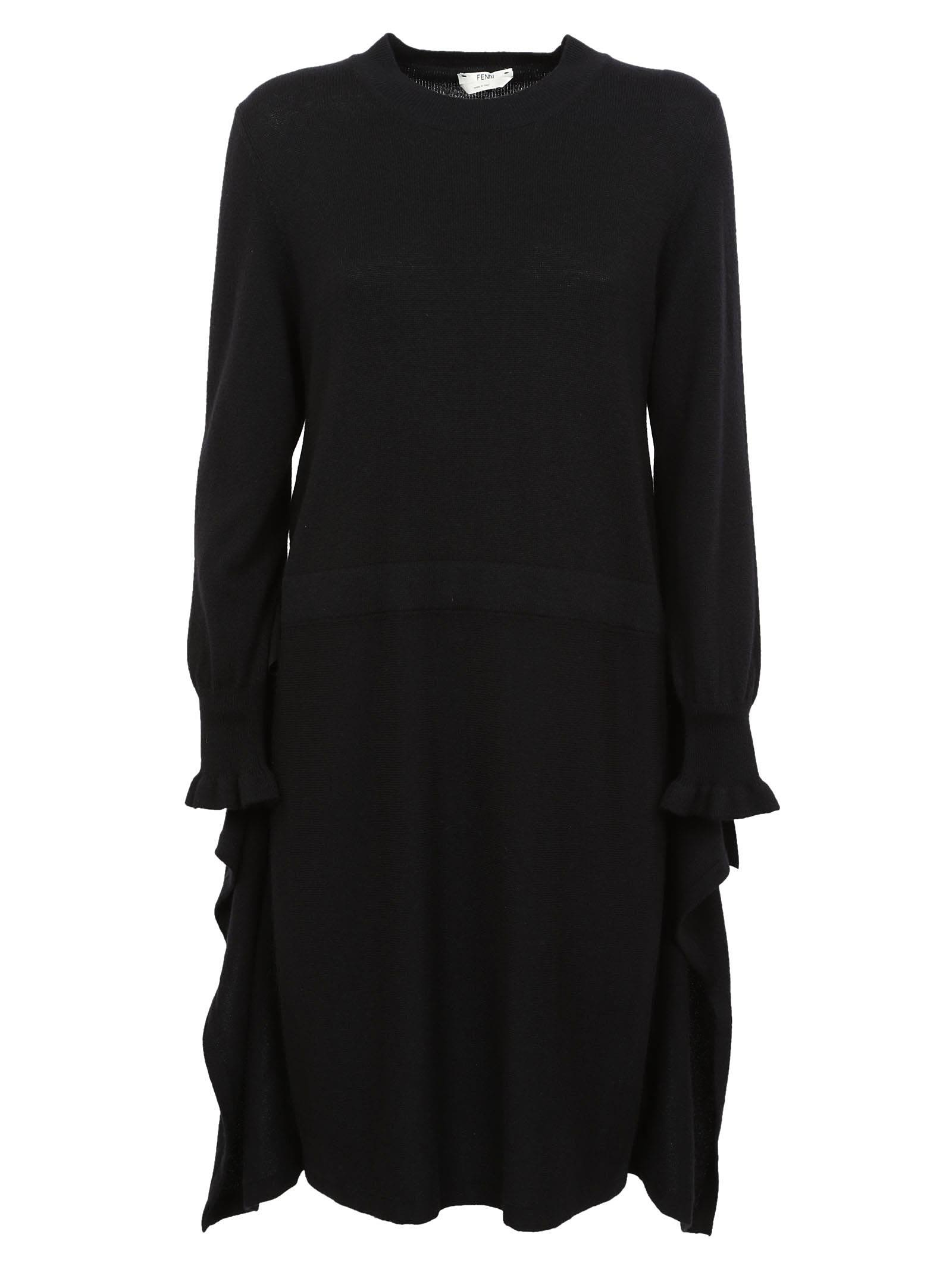 Fendi Long-sleeved Dress