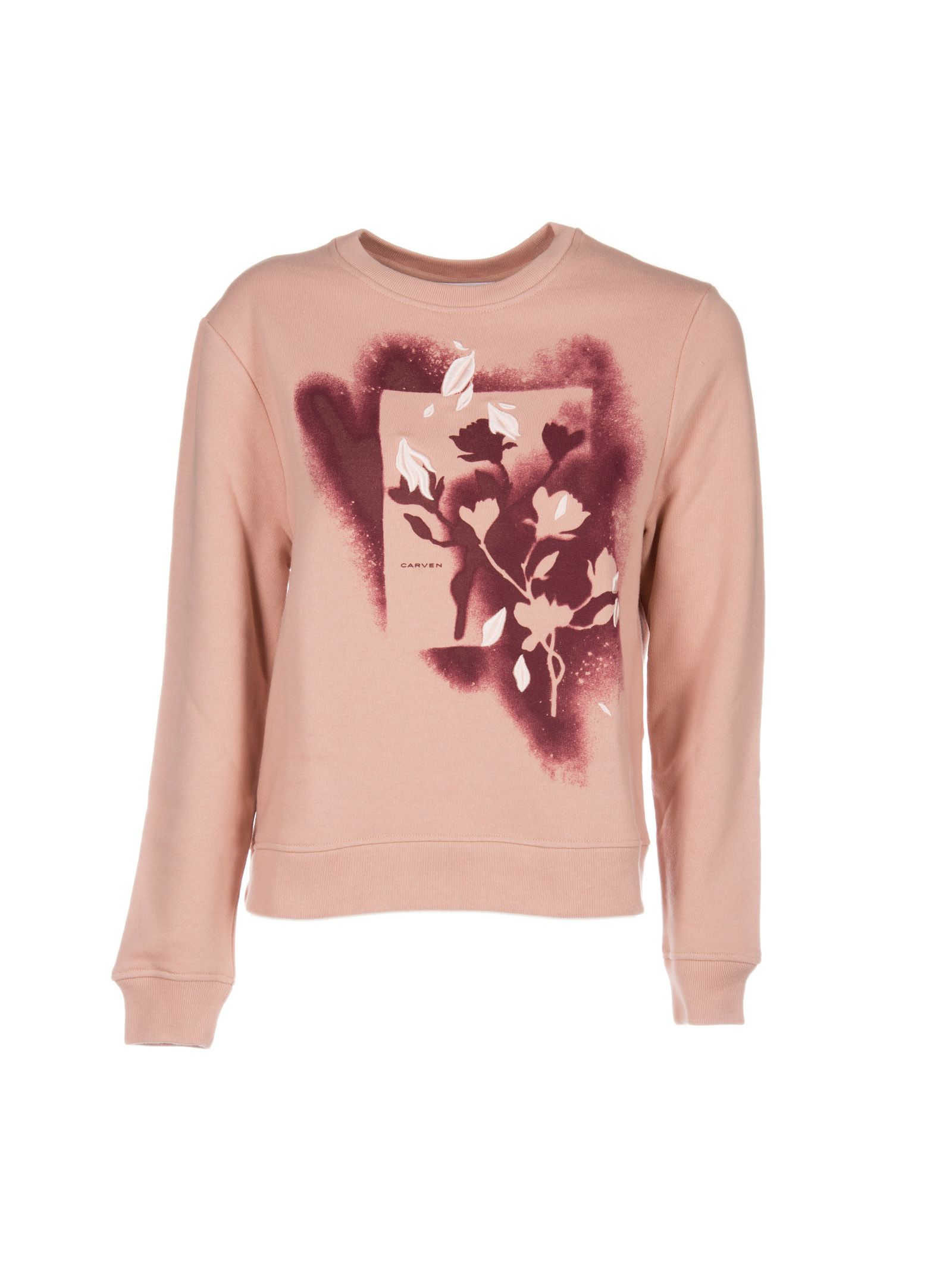 Carven Flower Spray Sweatshirt