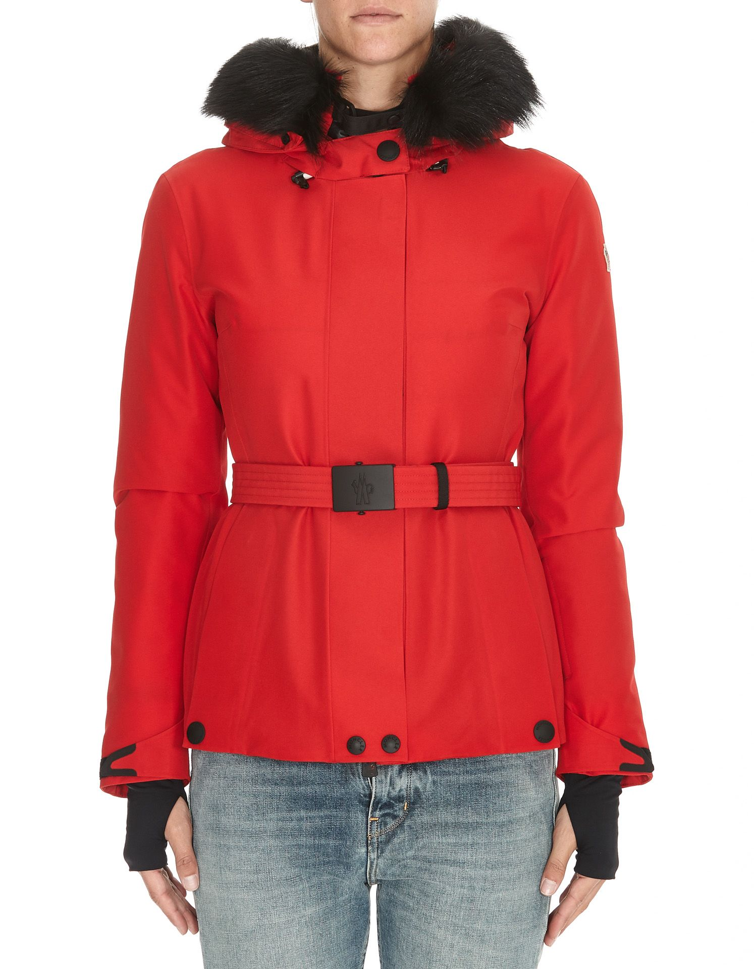 Moncler Grenoble Laplance Down Jacket In Red  2f6ac10ac